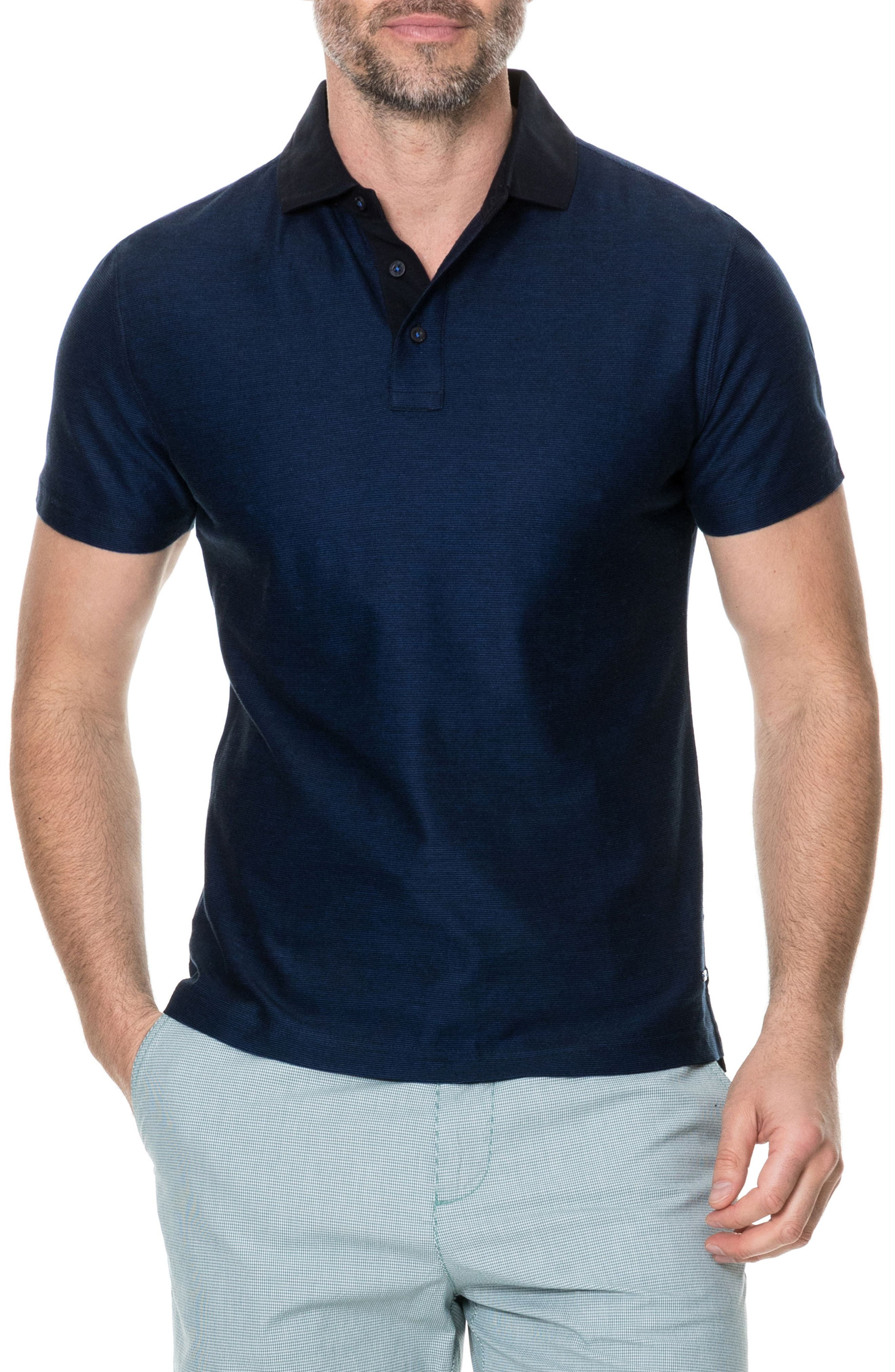 Caplestone Regular Fit Polo,                         Main,                         color, Ink