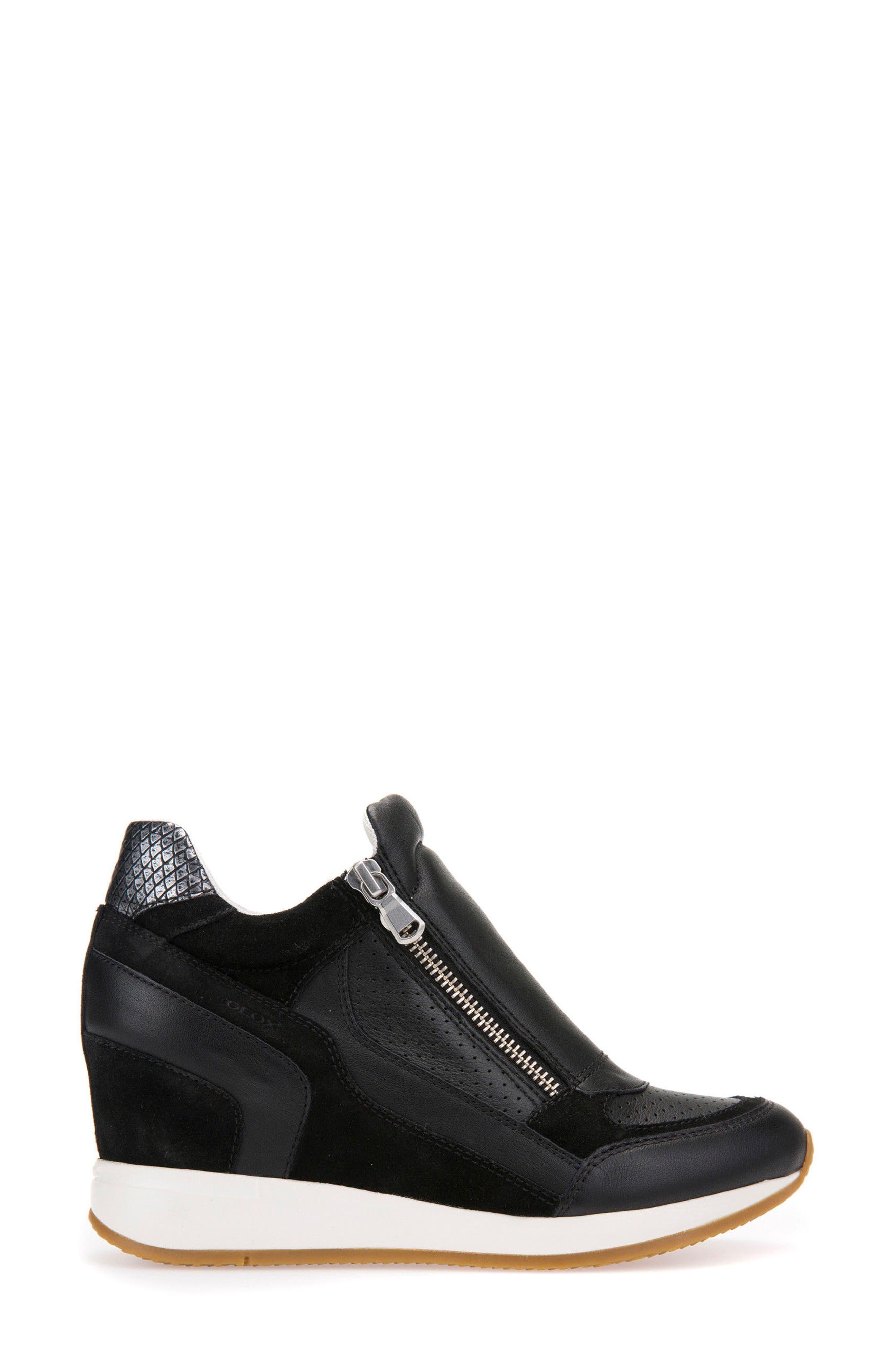 Alternate Image 3  - Geox Nydame Wedge Sneaker (Women)