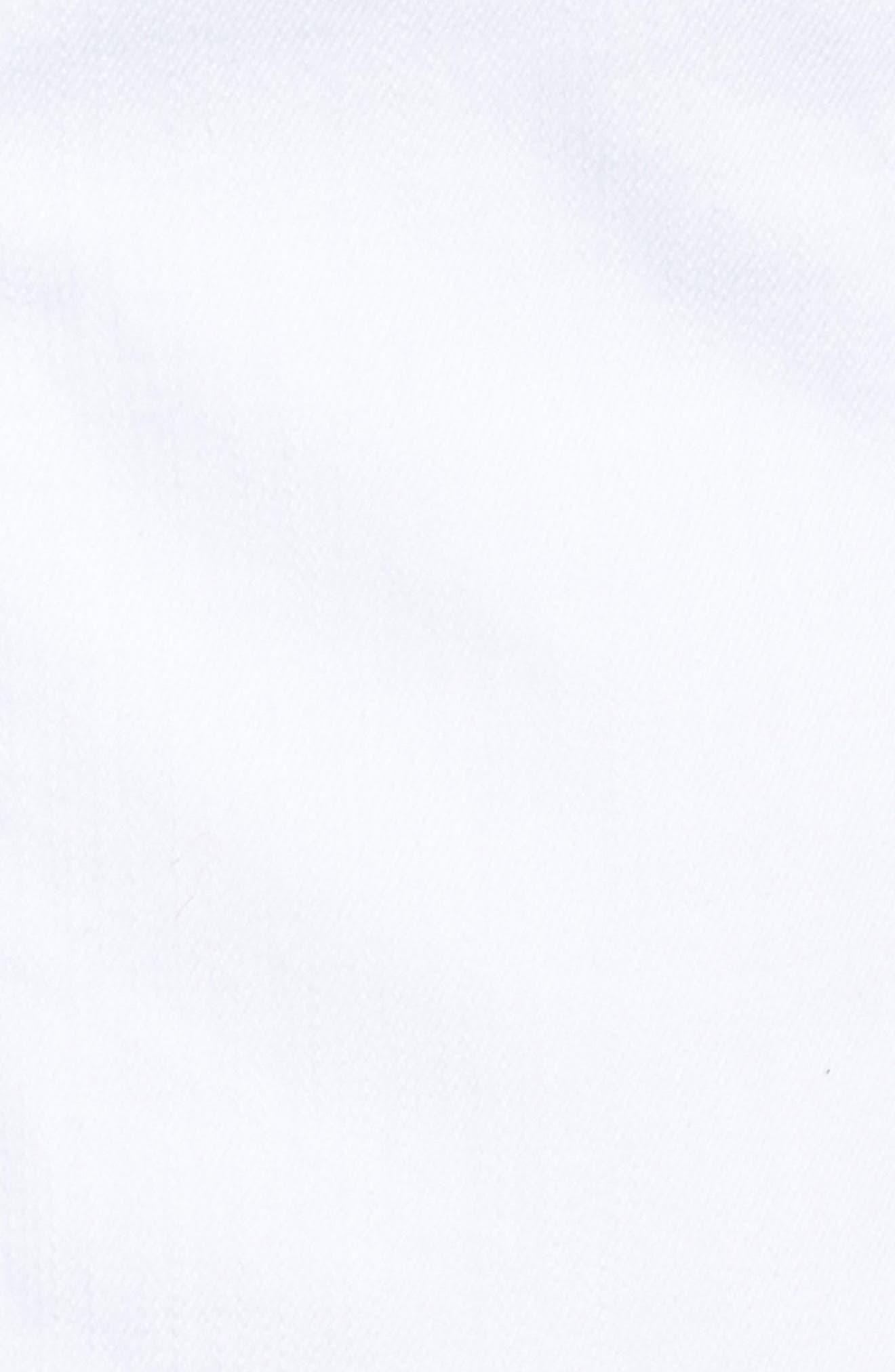 Kara Denim Jacket,                             Alternate thumbnail 6, color,                             Optic White