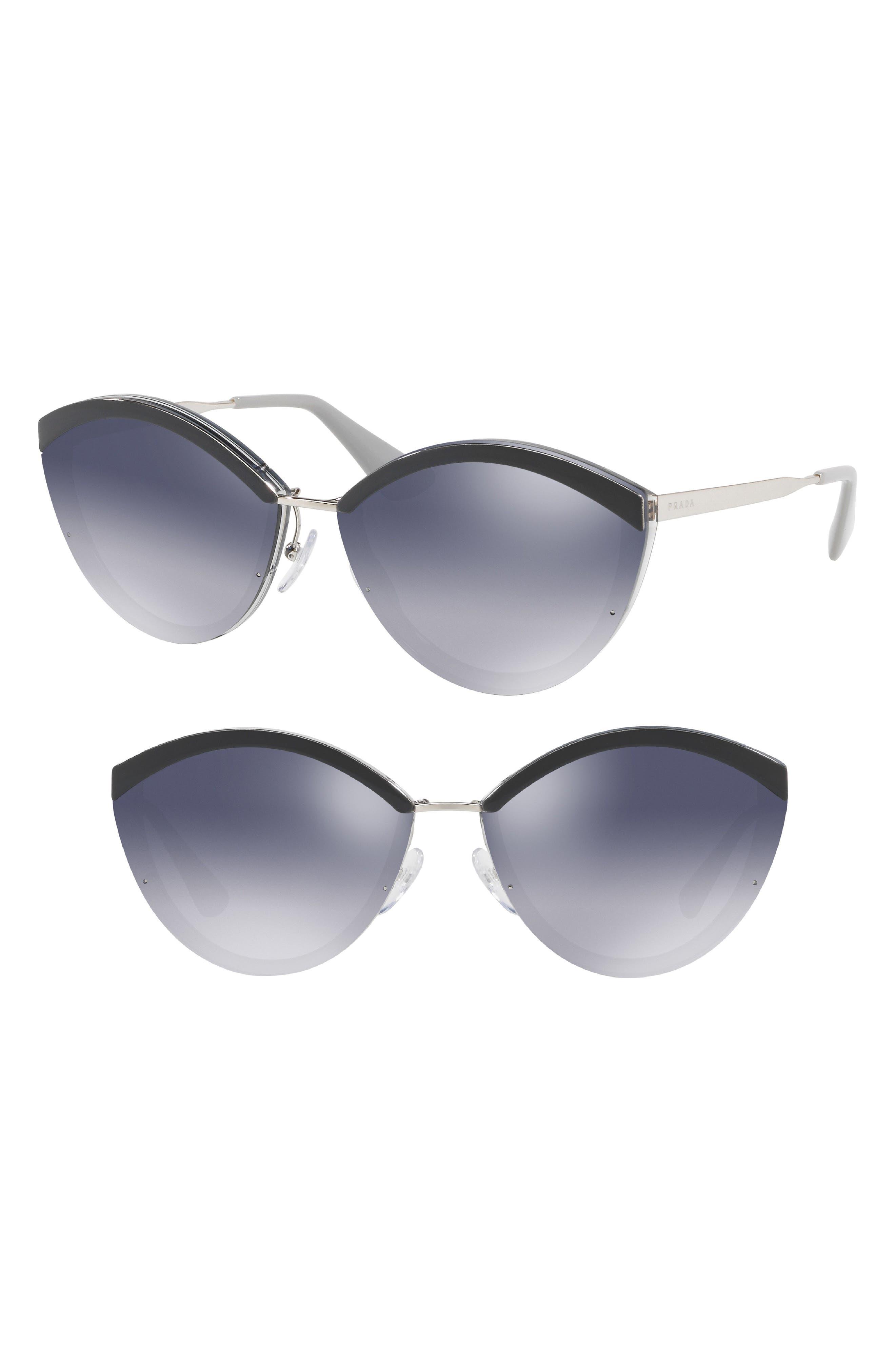 788ff44e50 ... discount prada cinma evolution 64mm oversize sunglasses d9f44 2633e