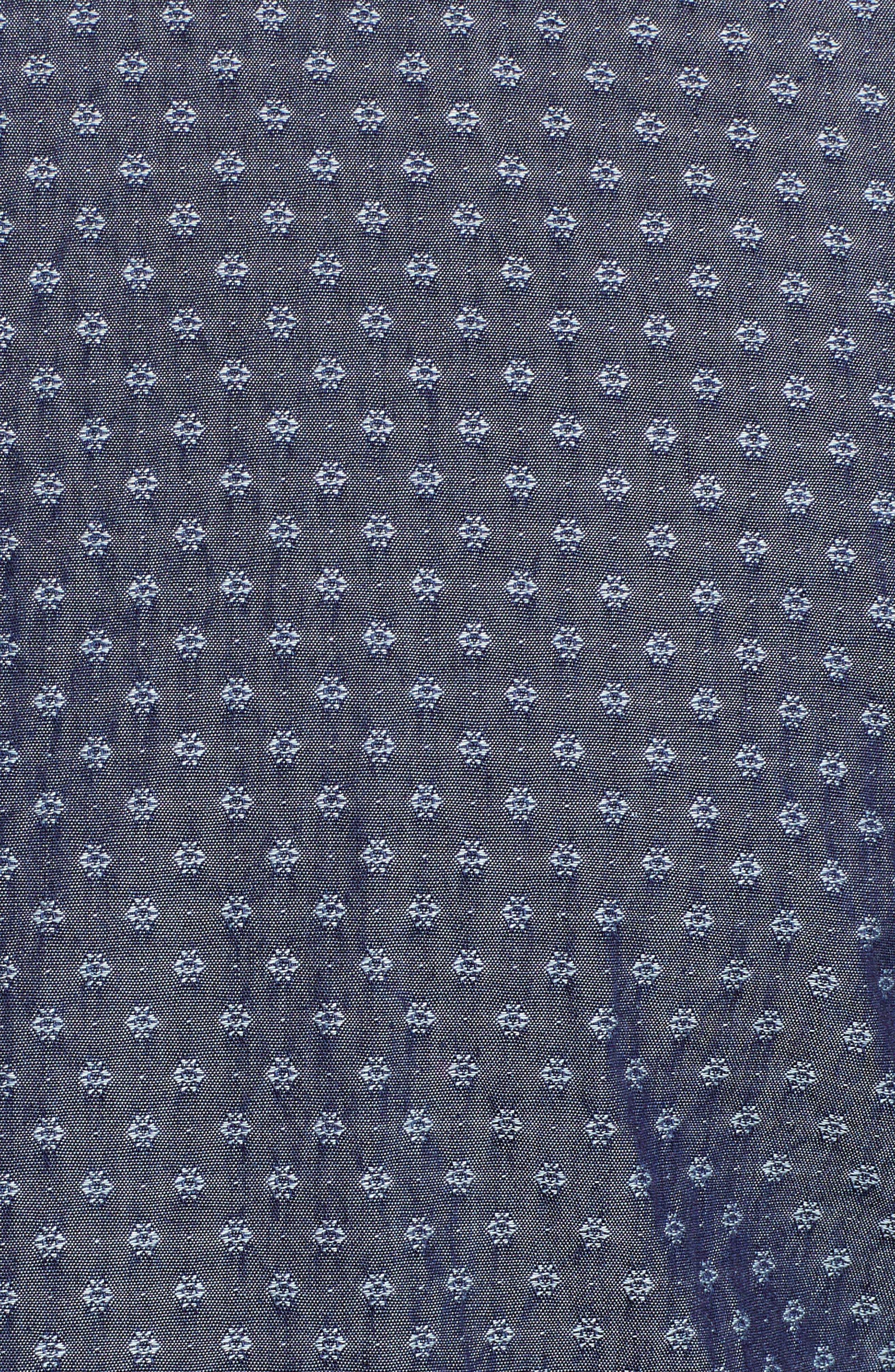 Print Sport Shirt,                             Alternate thumbnail 5, color,                             Dark Blue