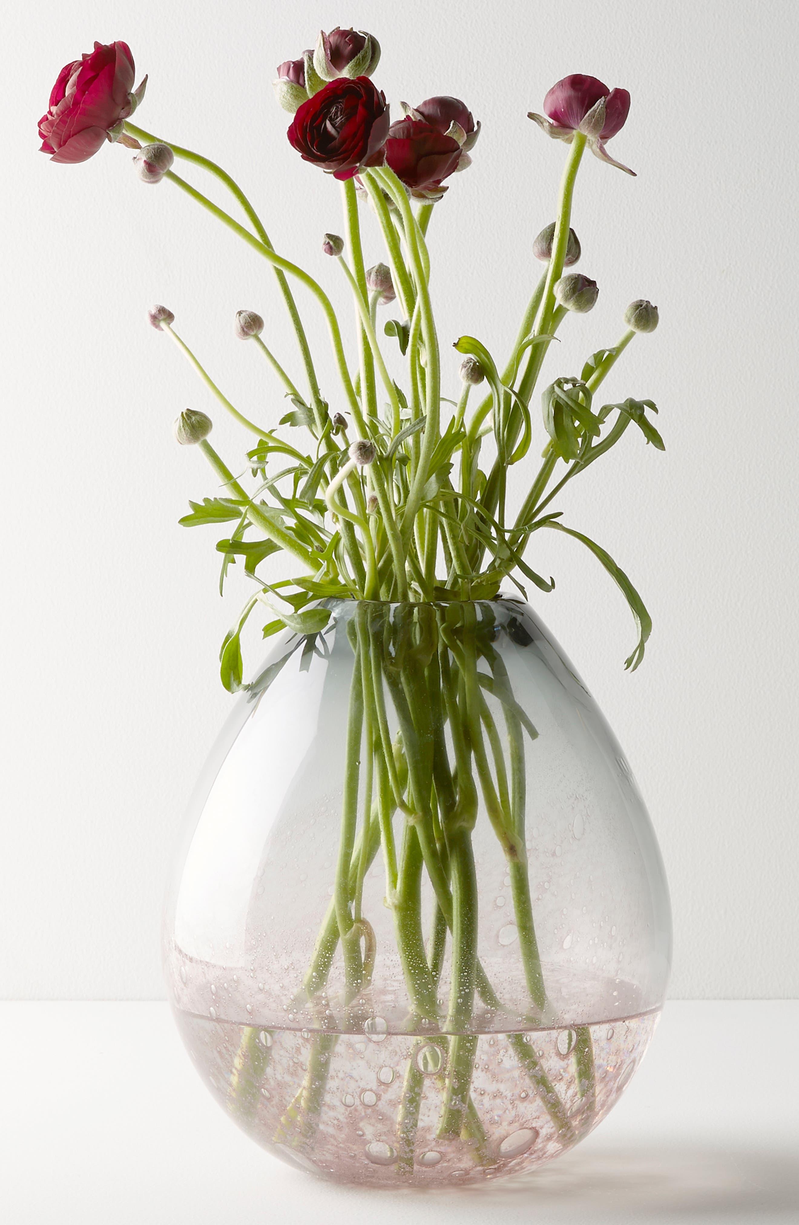 Carmen Short Vase,                             Main thumbnail 1, color,                             Purple