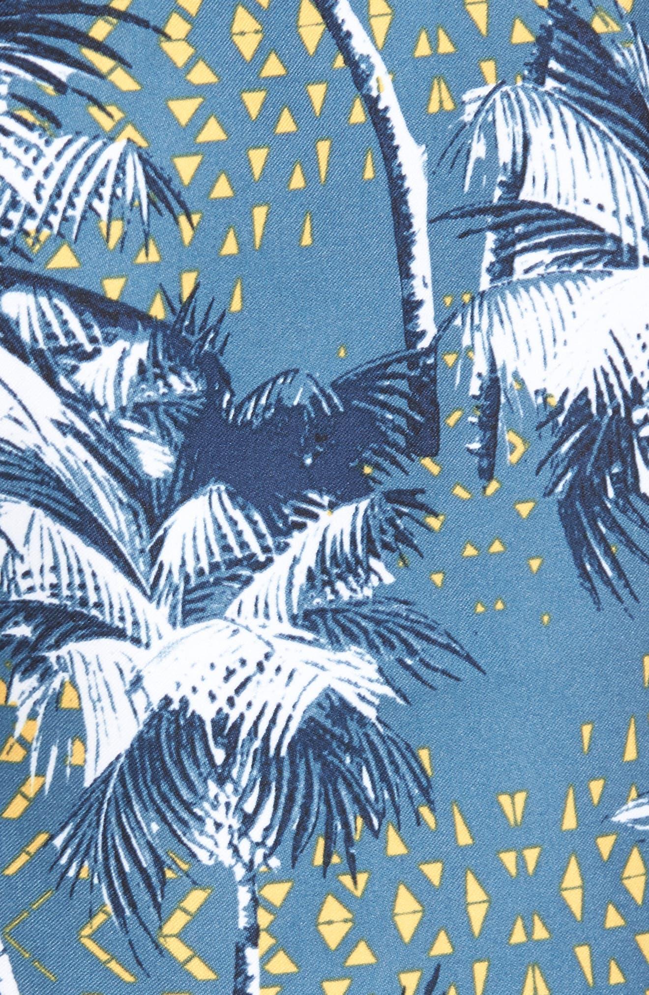 Darn Old Palmer Board Shorts,                             Alternate thumbnail 5, color,                             Dust Blue