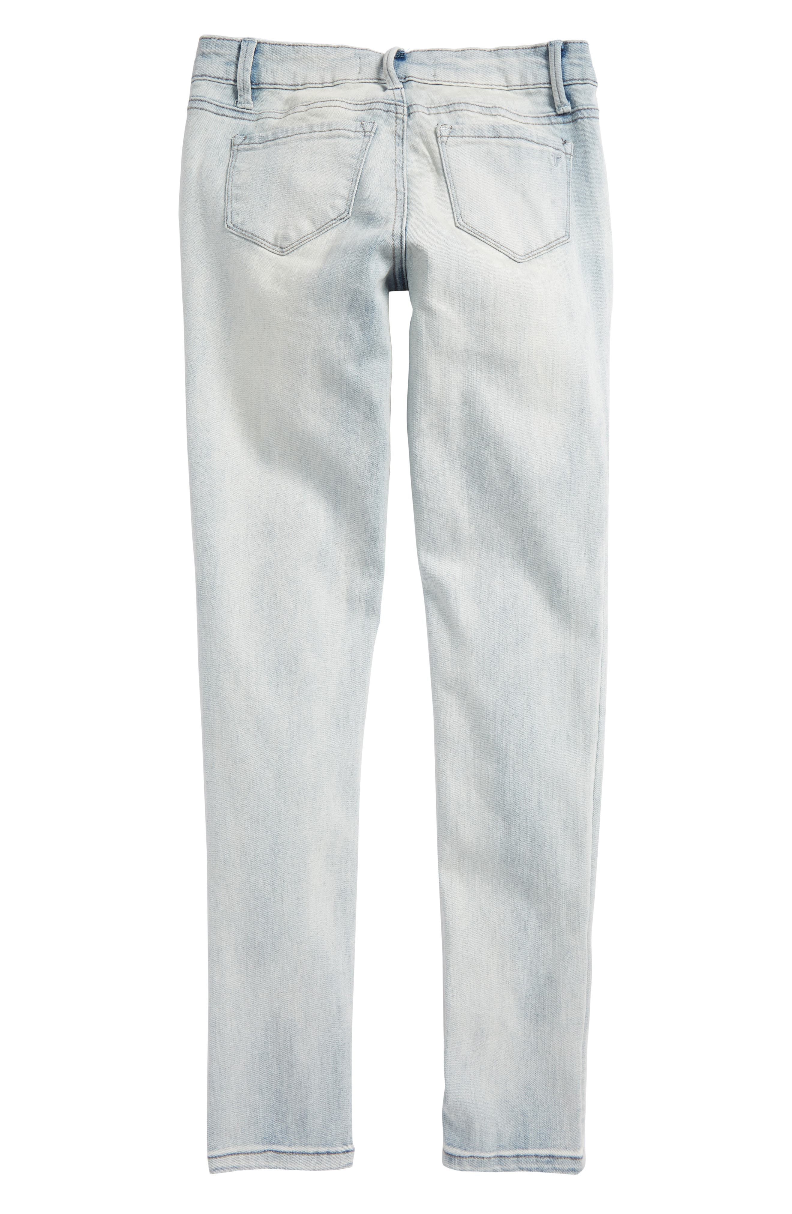 Ankle Crop Jeans,                             Alternate thumbnail 2, color,                             Light Blue