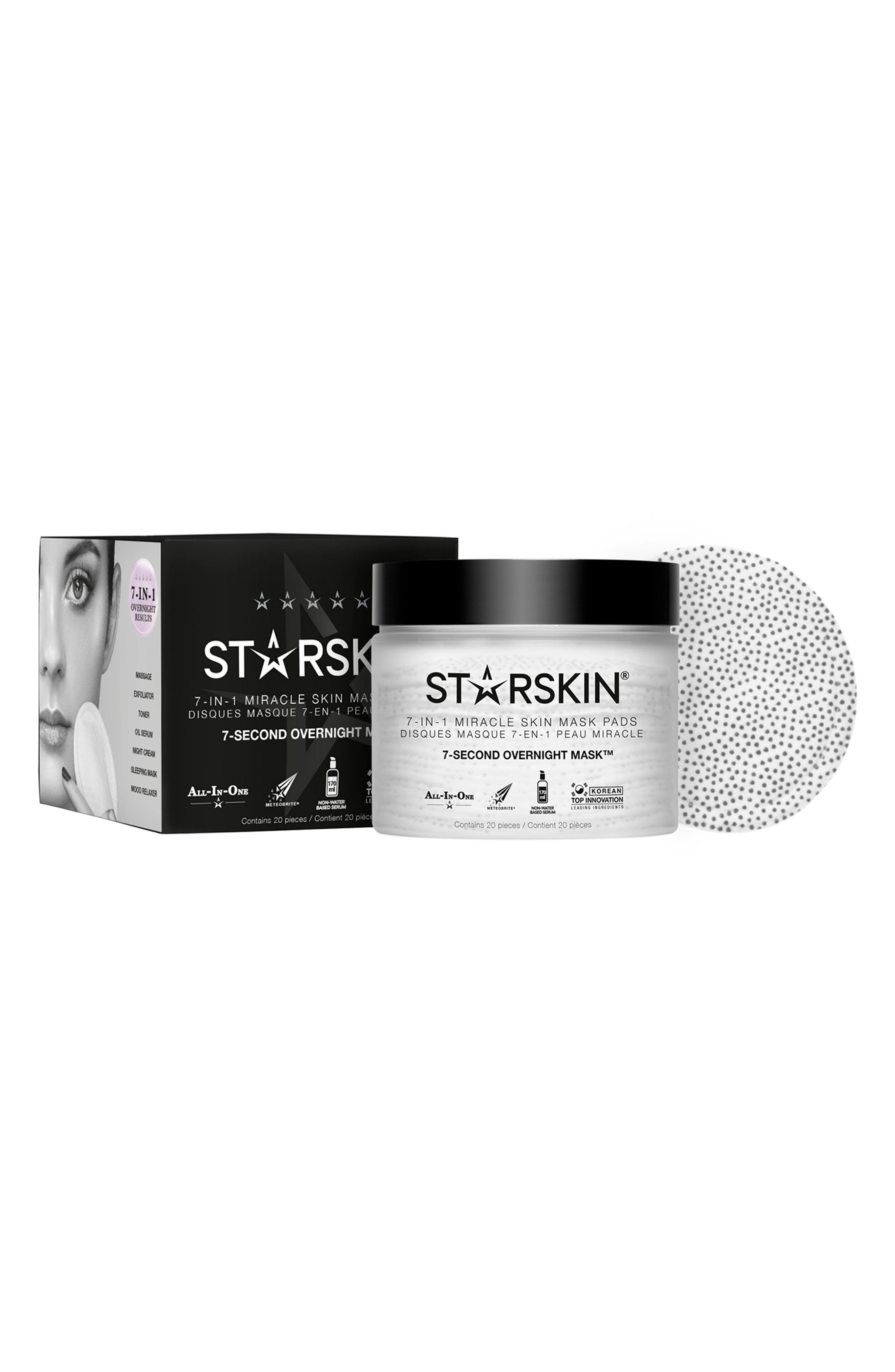 7-Second Overnight Mask,                         Main,                         color, No Color