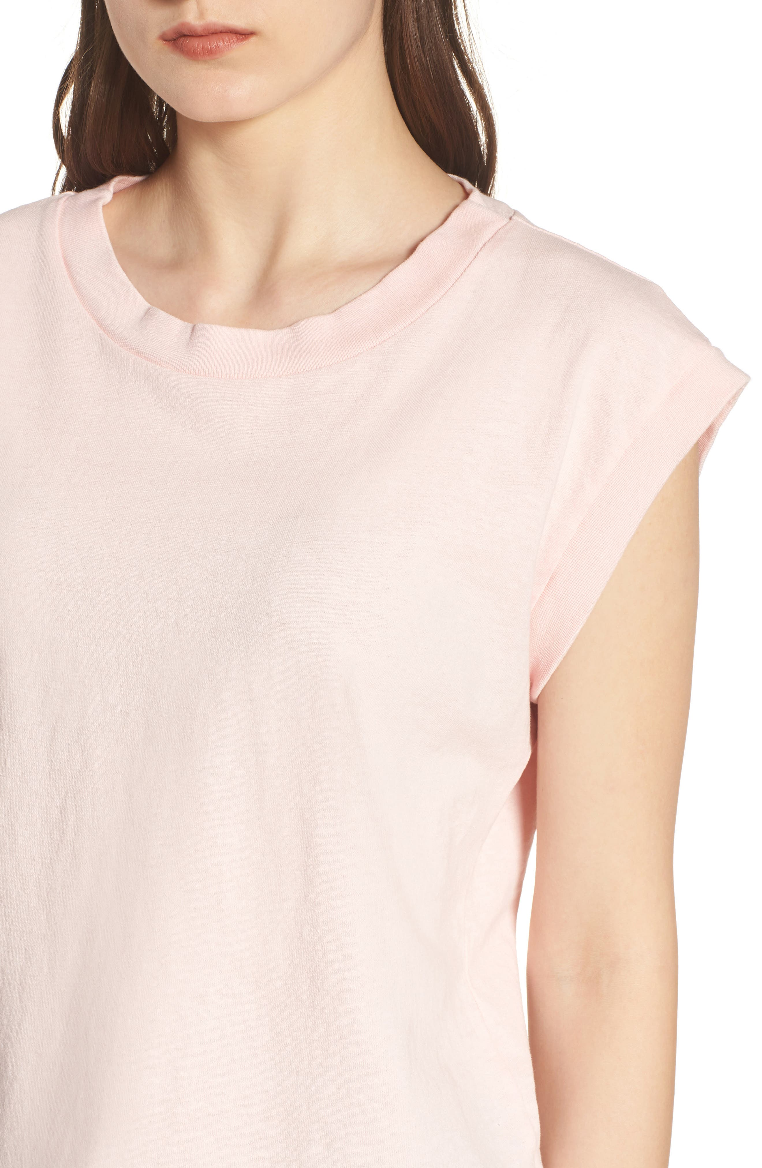 Muscle Tee,                             Alternate thumbnail 4, color,                             Love Letter
