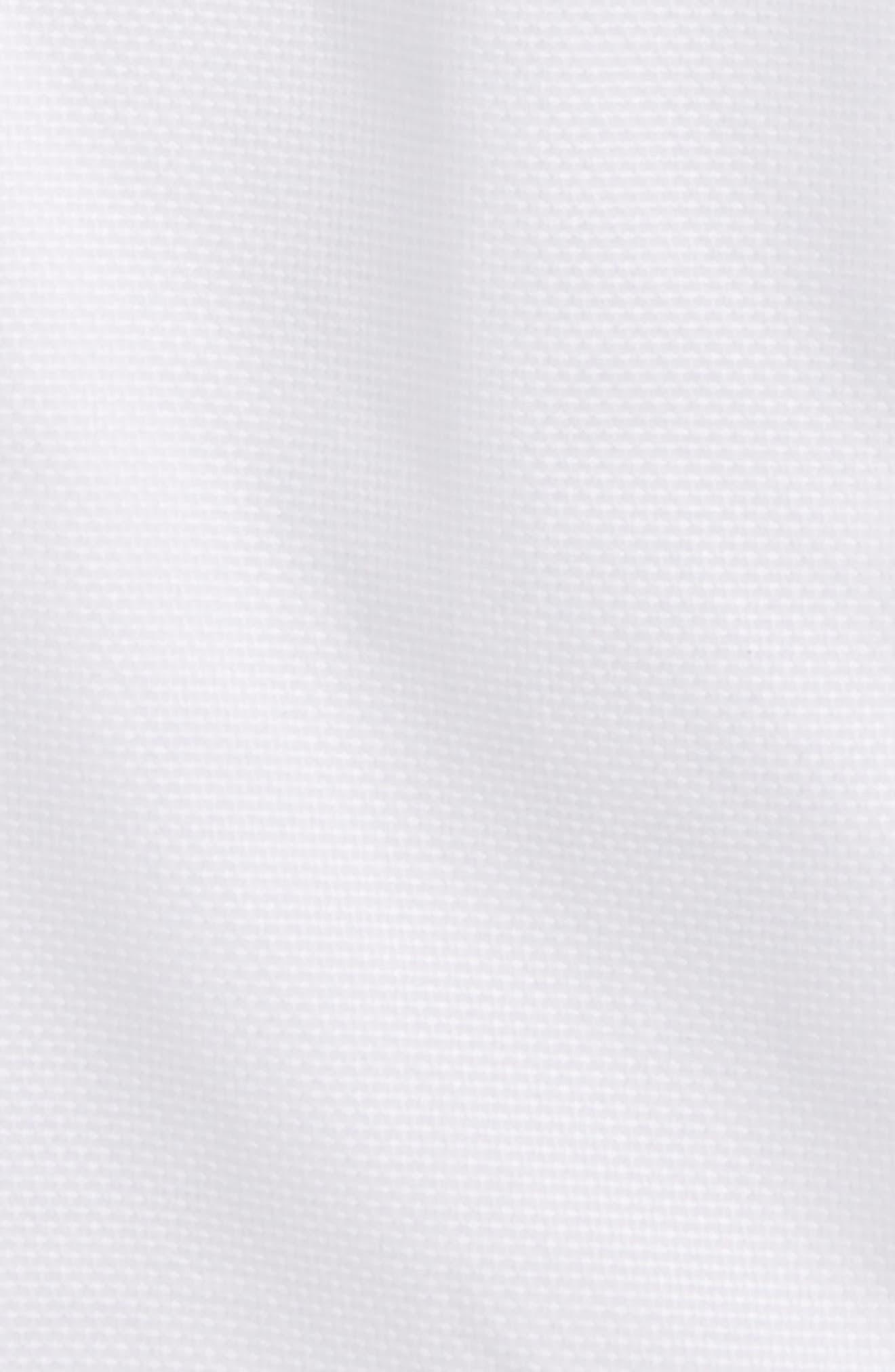 Solid Dress Shirt,                             Alternate thumbnail 2, color,                             White