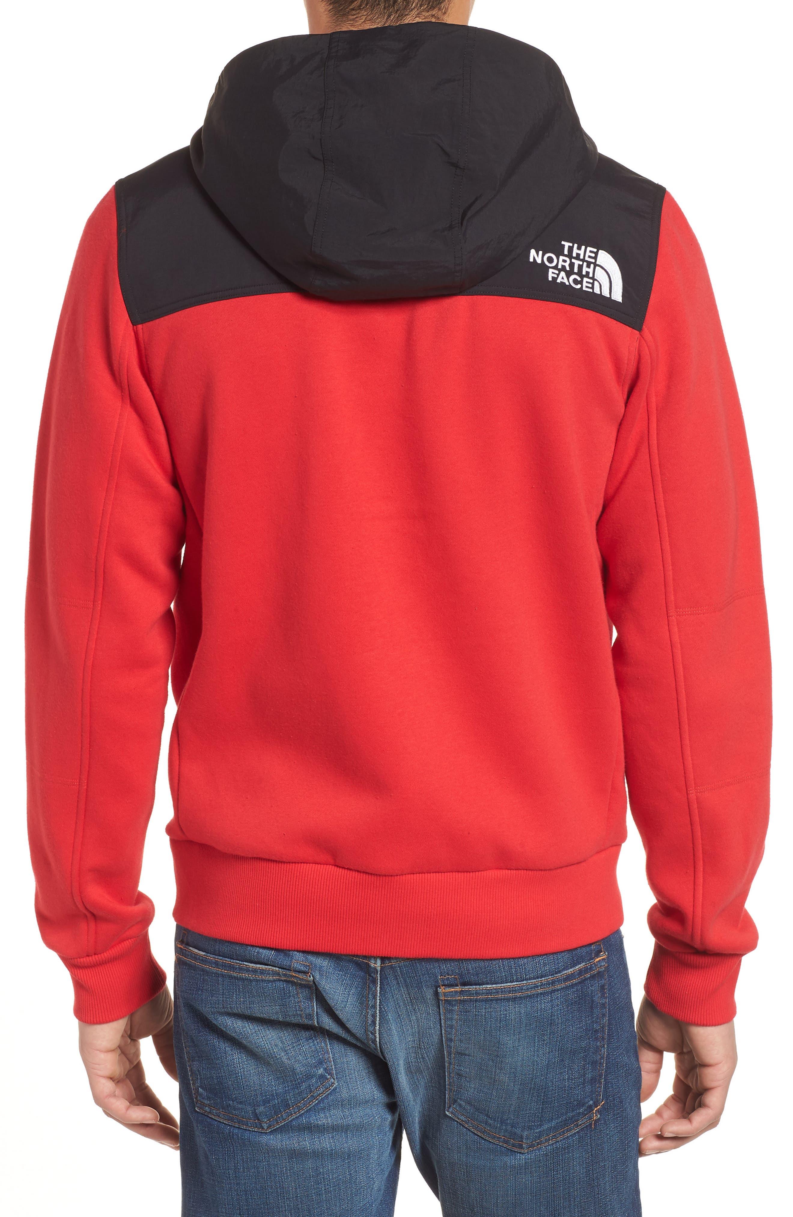 Rivington II Hooded Jacket,                             Alternate thumbnail 2, color,                             Red
