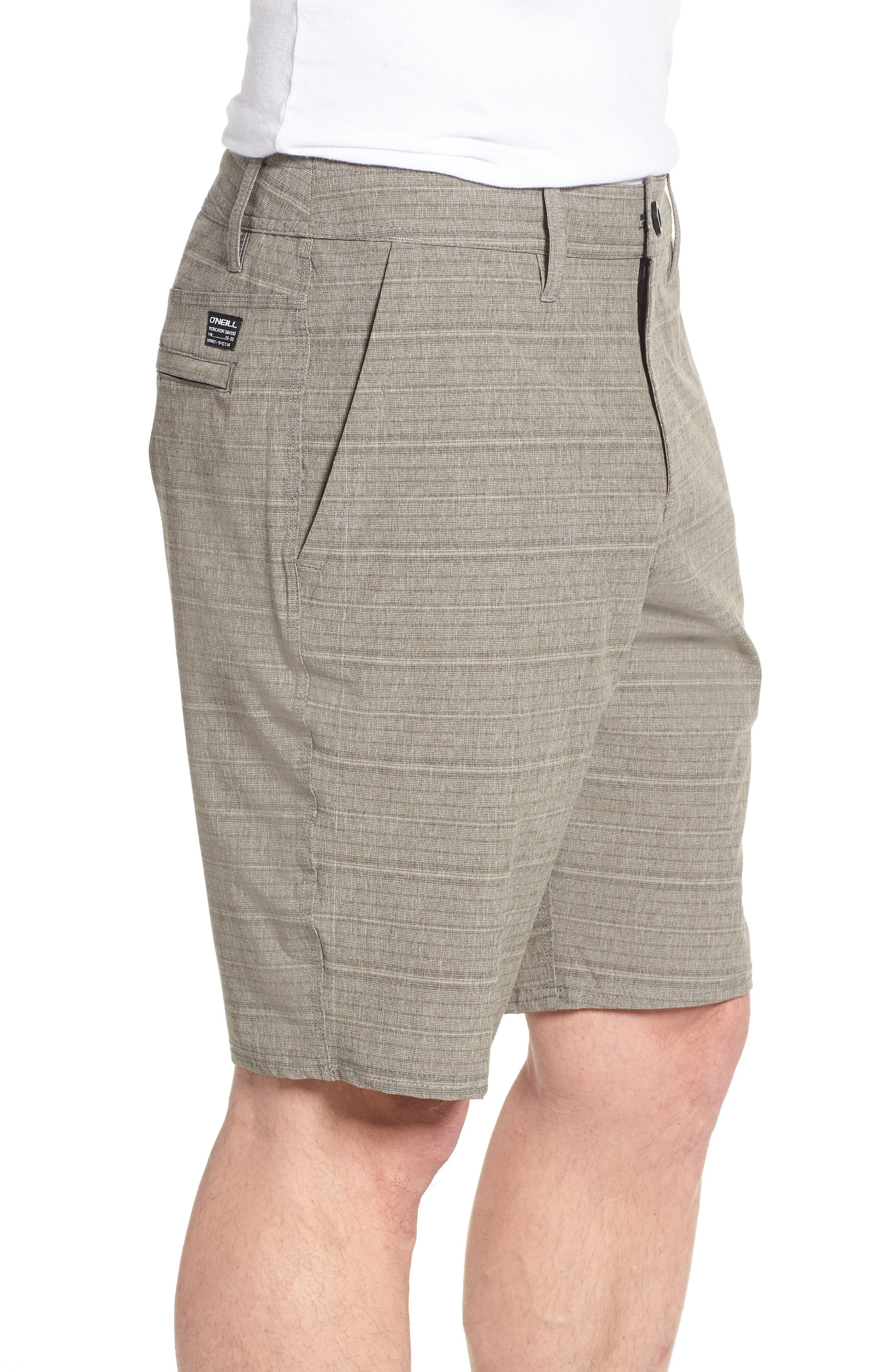 Alternate Image 3  - O'Neill Locked Stripe Hybrid Shorts