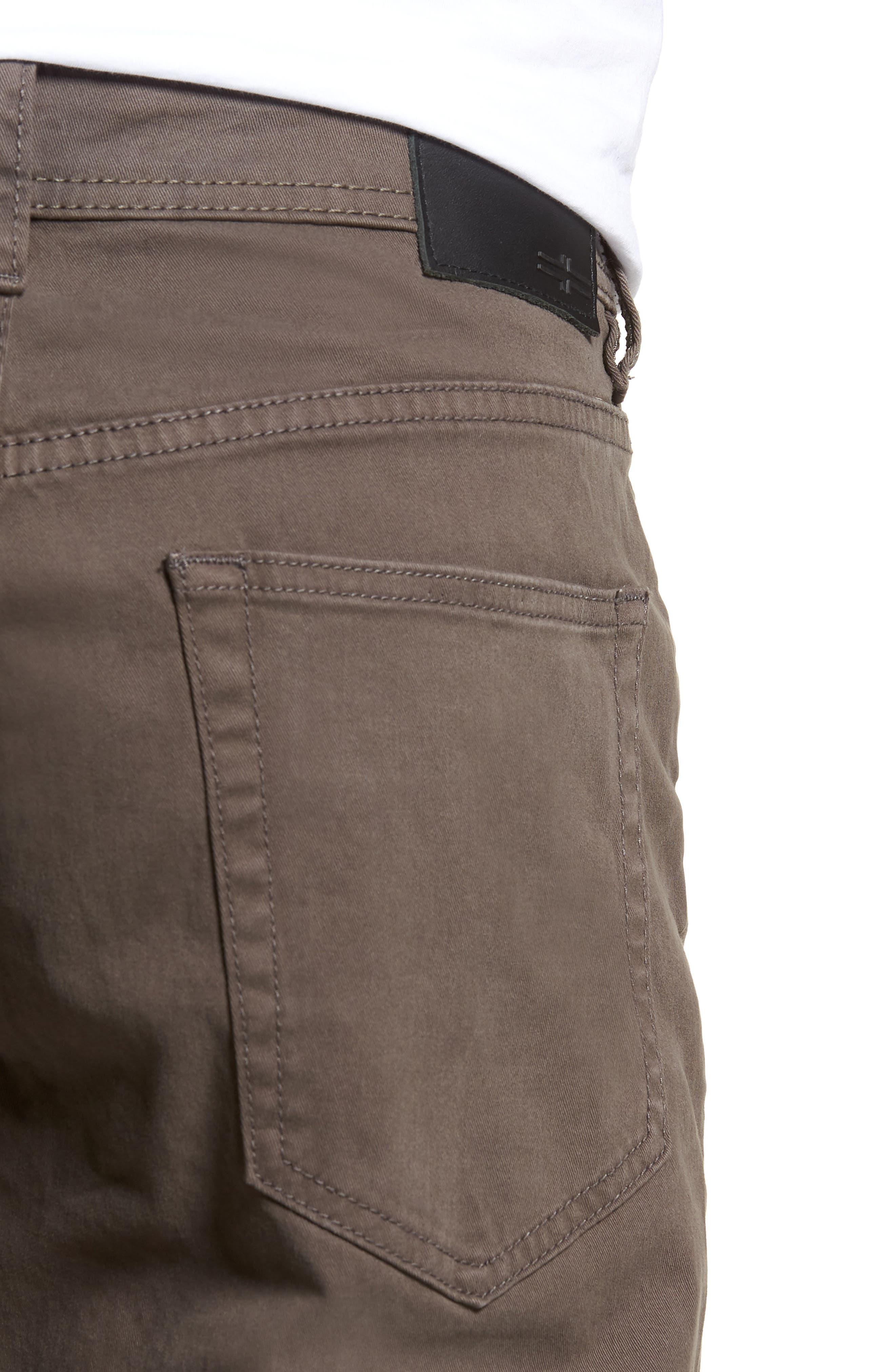 Jeans Co. Kingston Slim Straight Leg Jeans,                             Alternate thumbnail 4, color,                             Deep Earth
