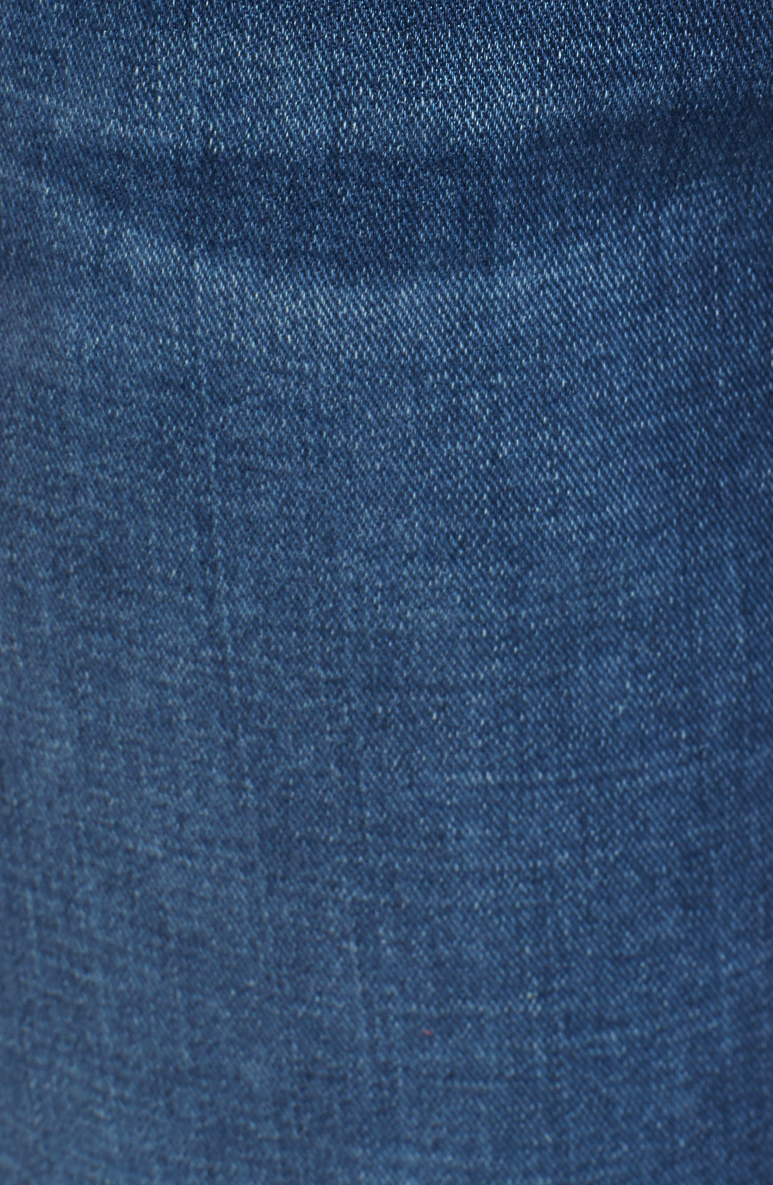 Standard Straight Leg Jeans,                             Alternate thumbnail 5, color,                             Oasis