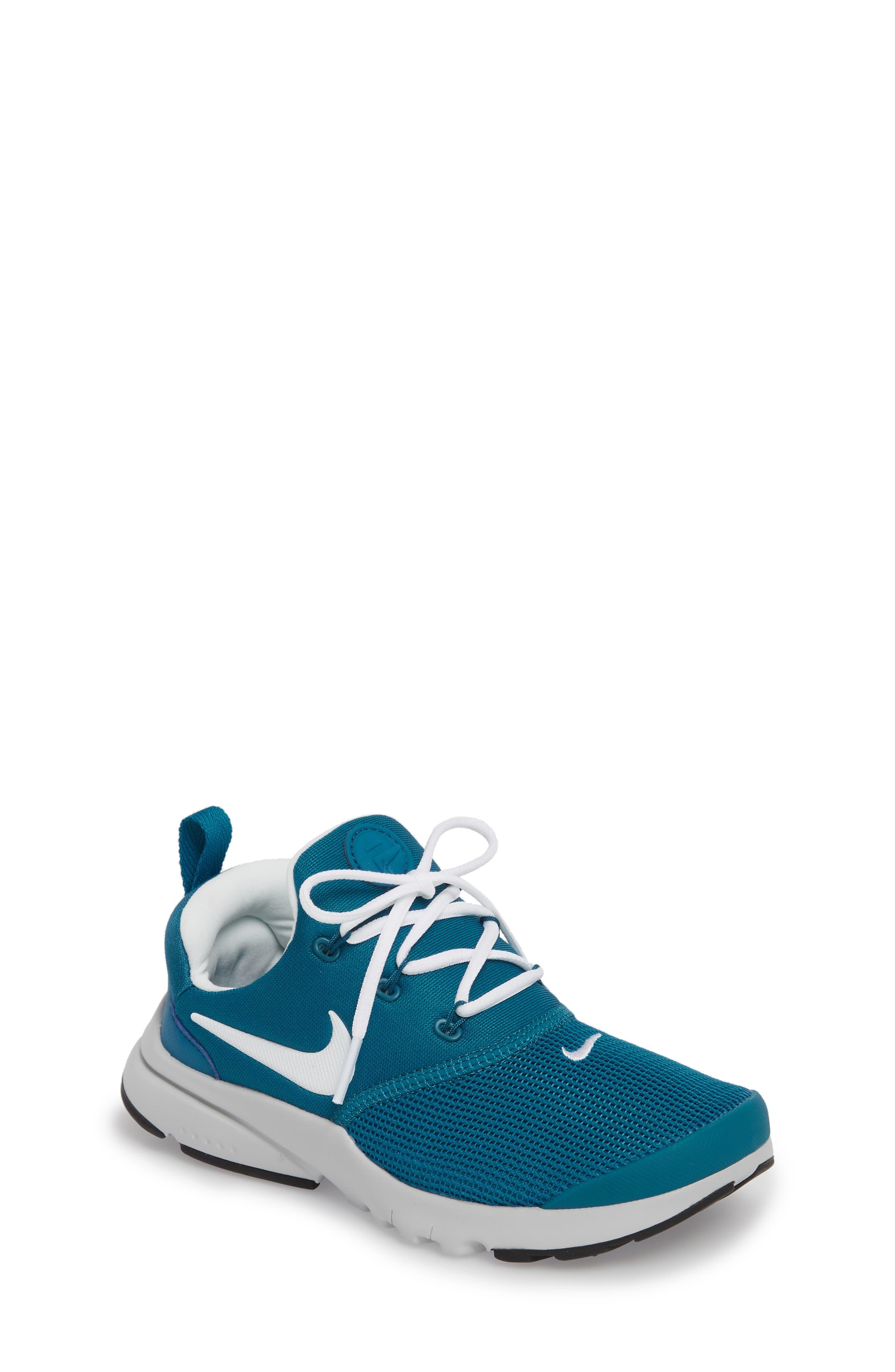 Presto Fly Sneaker,                             Main thumbnail 1, color,                             Green Abyss/ Platinum/ Black