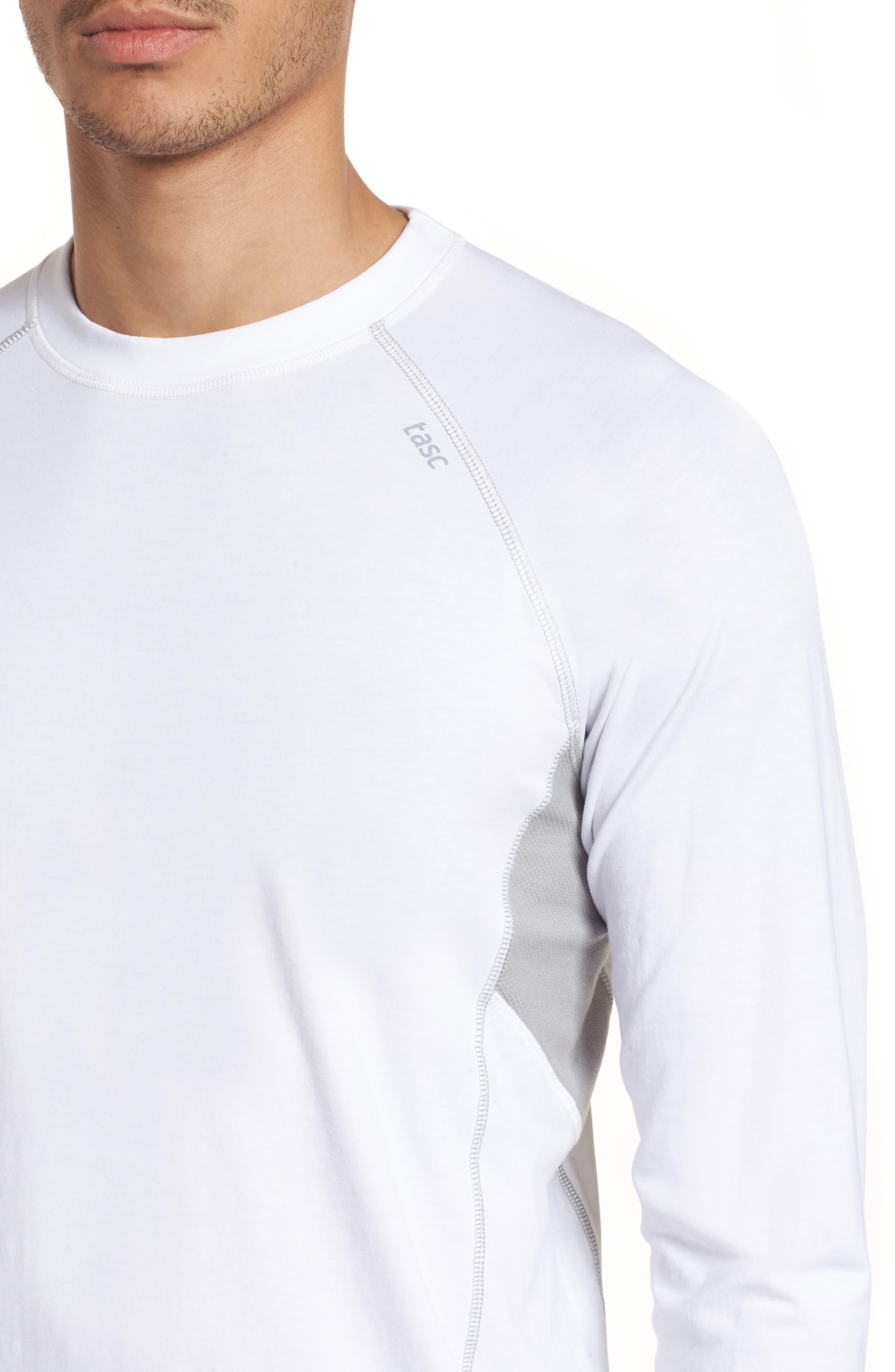 Charge II Long Sleeve T-Shirt,                             Alternate thumbnail 4, color,                             White