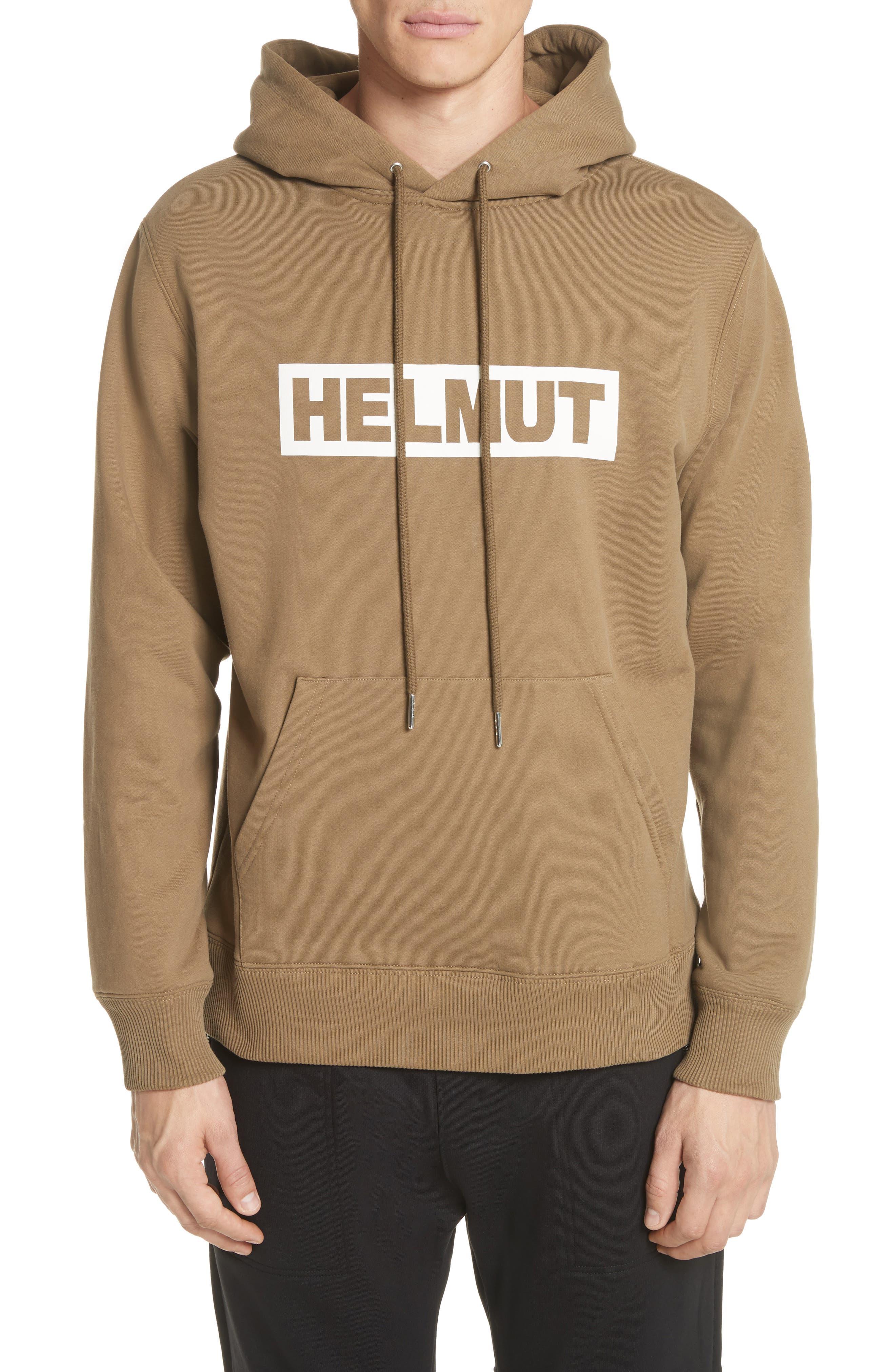 Helmut Lang Logo Graphic Hoodie
