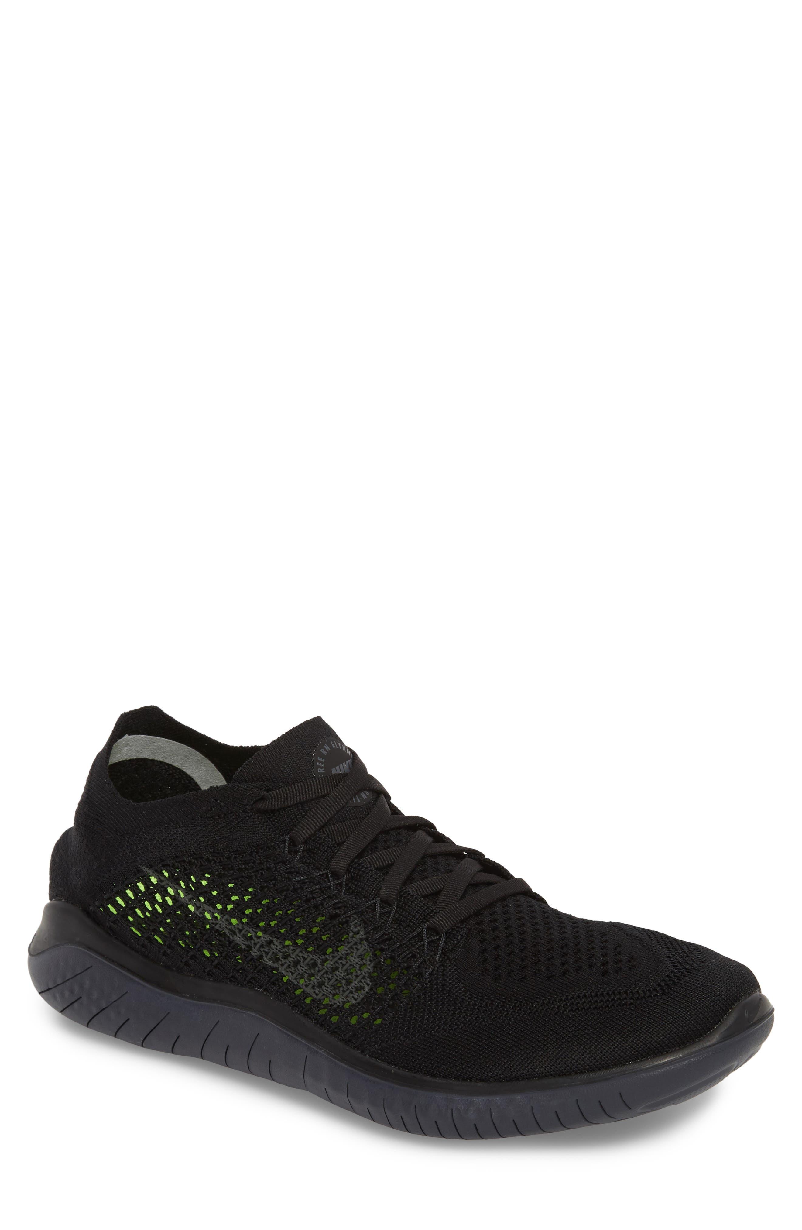 Nike Free RN Flyknit 2018 Running Shoe (Men)