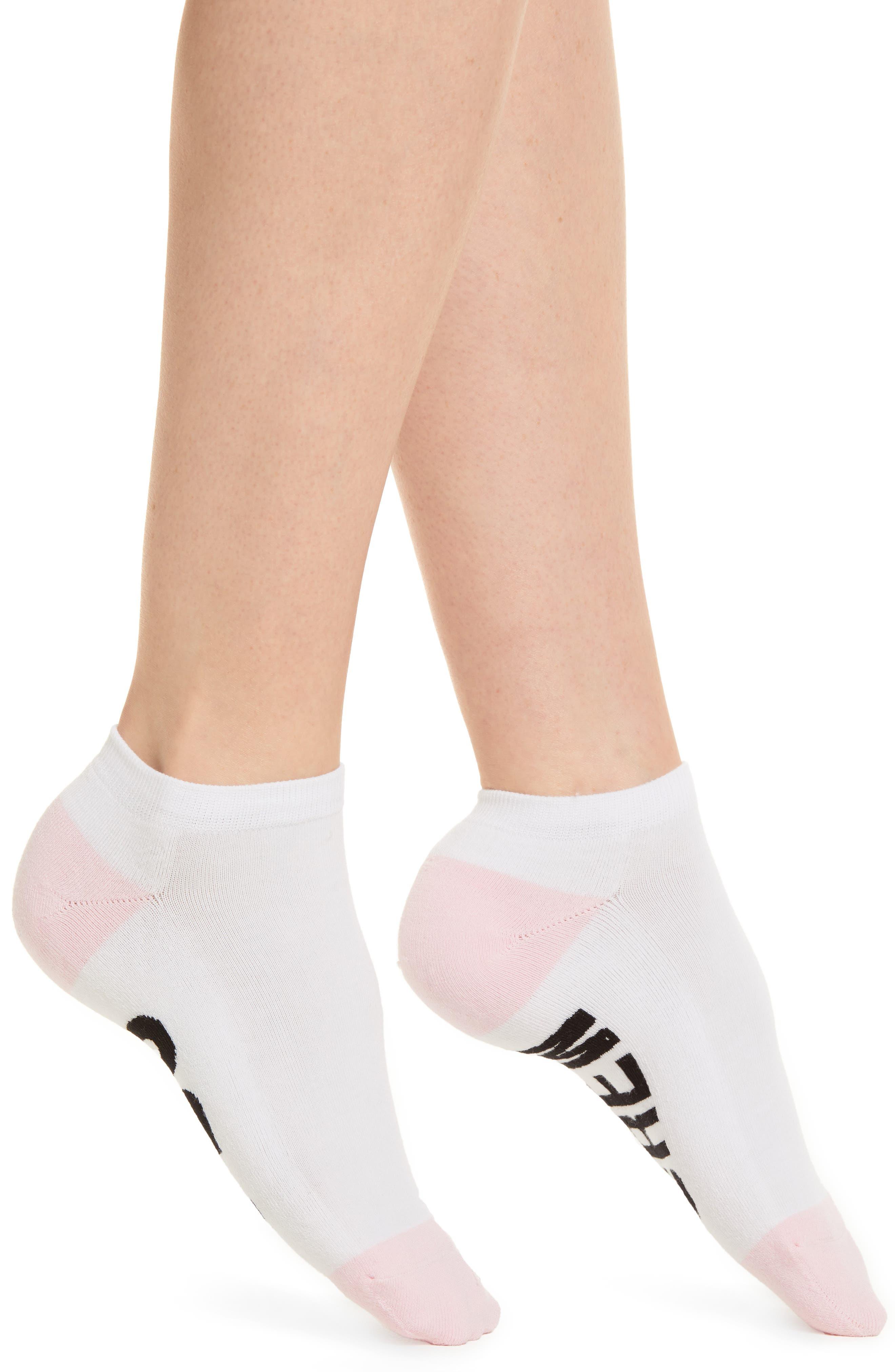 I Do Crew Low-Cut Socks,                             Main thumbnail 1, color,                             White
