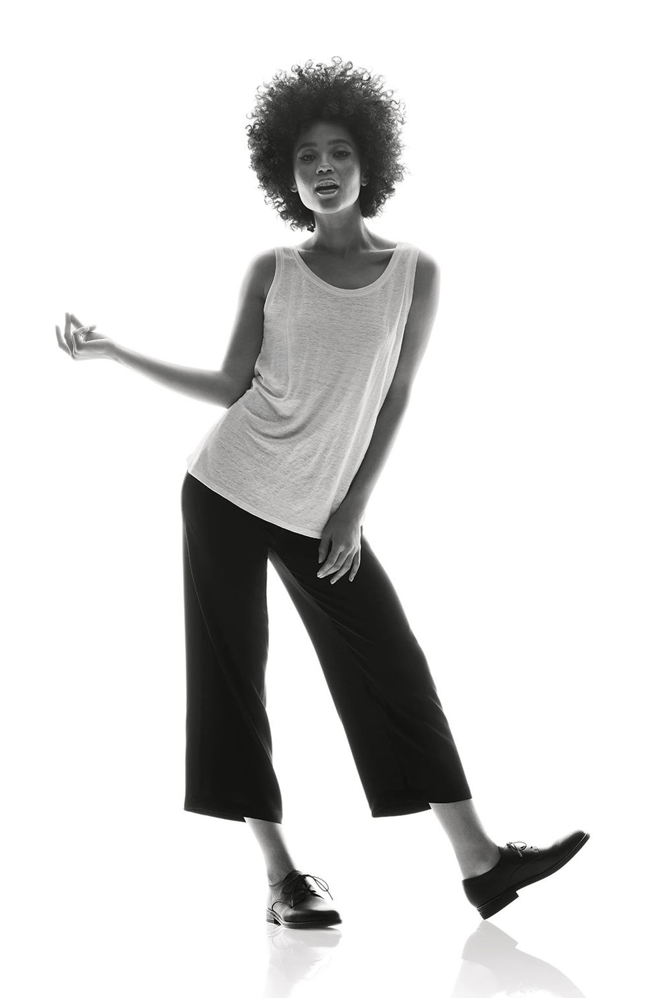 Alternate Image 5  - Eileen Fisher Silk Crop Pants (Regular & Petite)