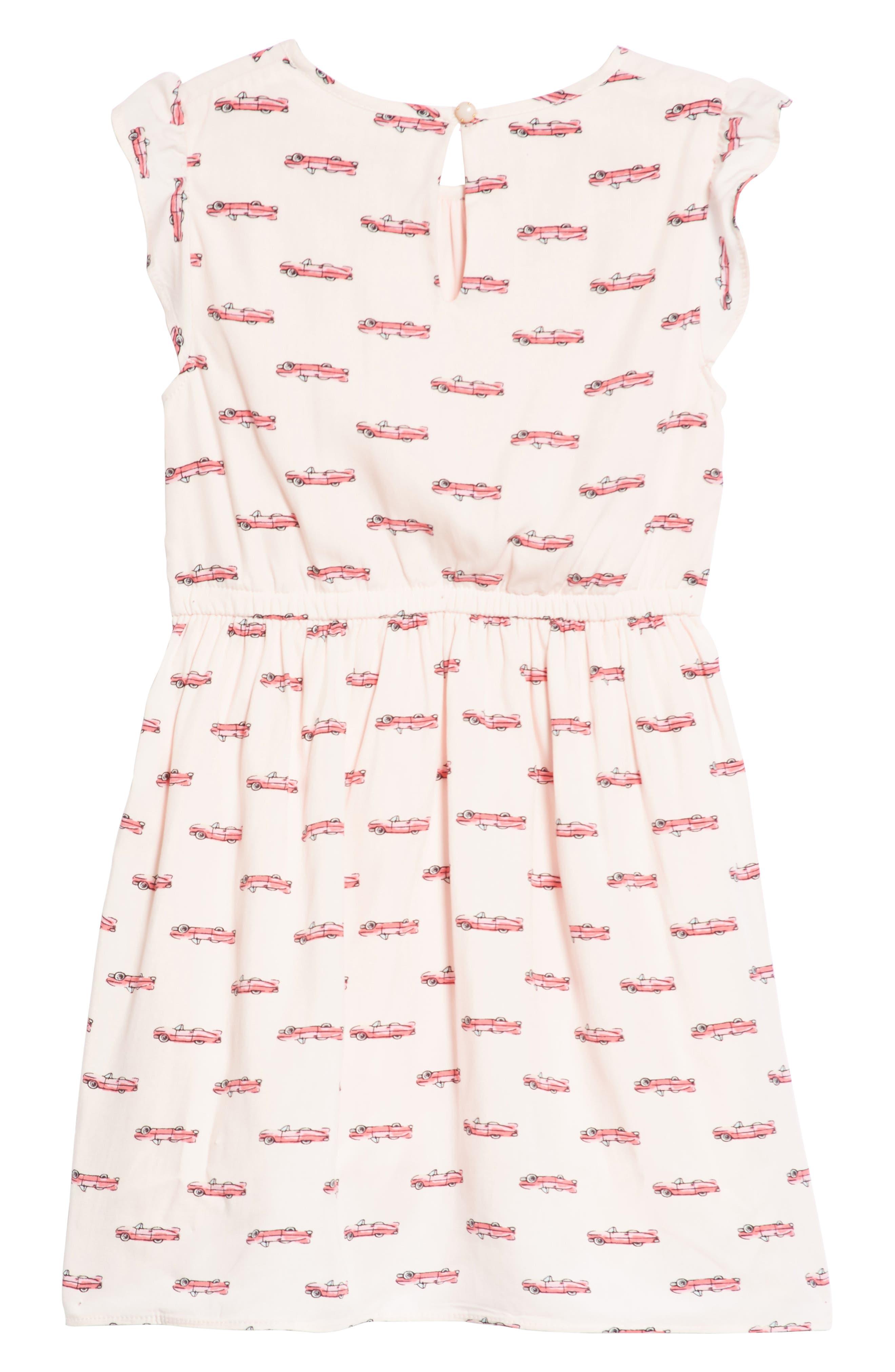Alternate Image 2  - kate spade new york hot rod dress (Toddler Girls & Little Girls)