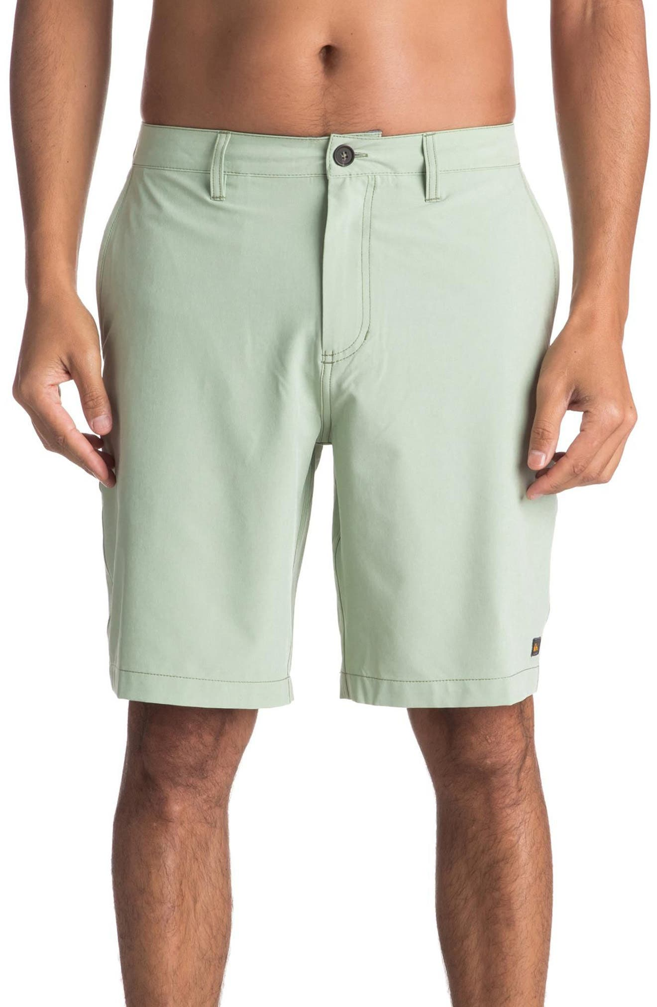 Quiksilver Vagabond Amphibian Board Shorts,                         Main,                         color, Reseda