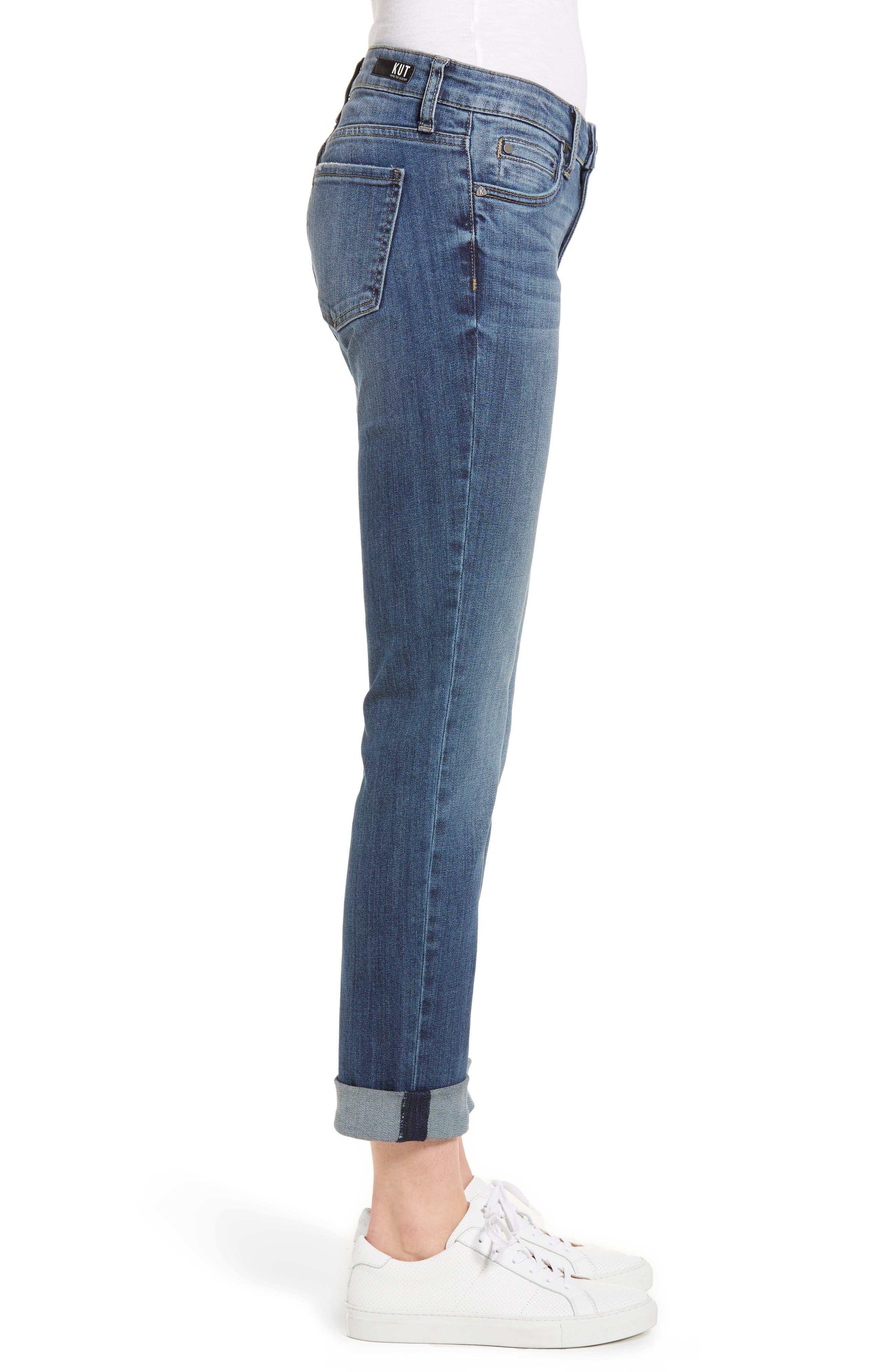 Catherine Boyfriend Jeans,                             Alternate thumbnail 3, color,                             Improvise