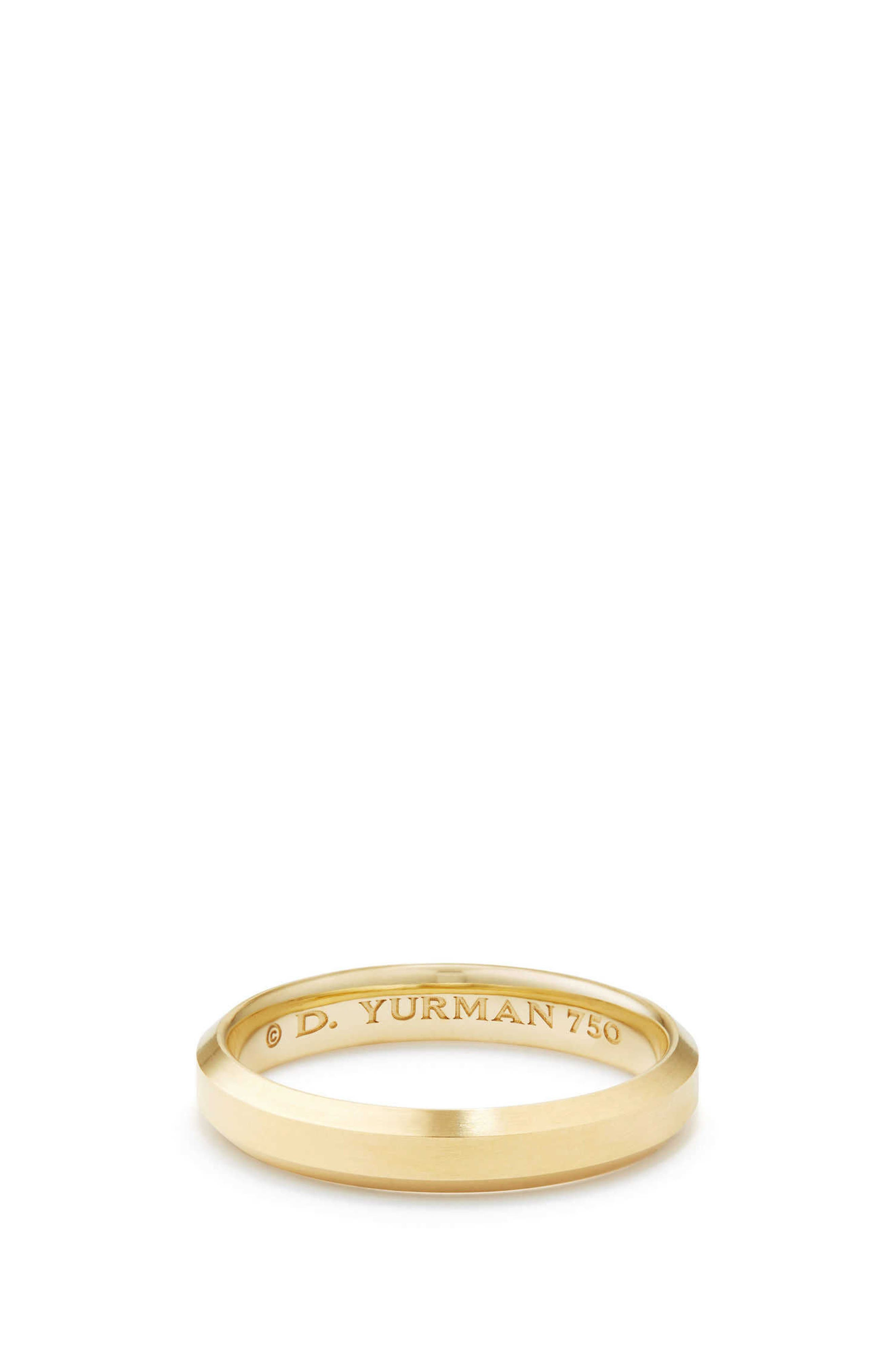 Streamline Band Ring in 18K Gold,                         Main,                         color, Gold