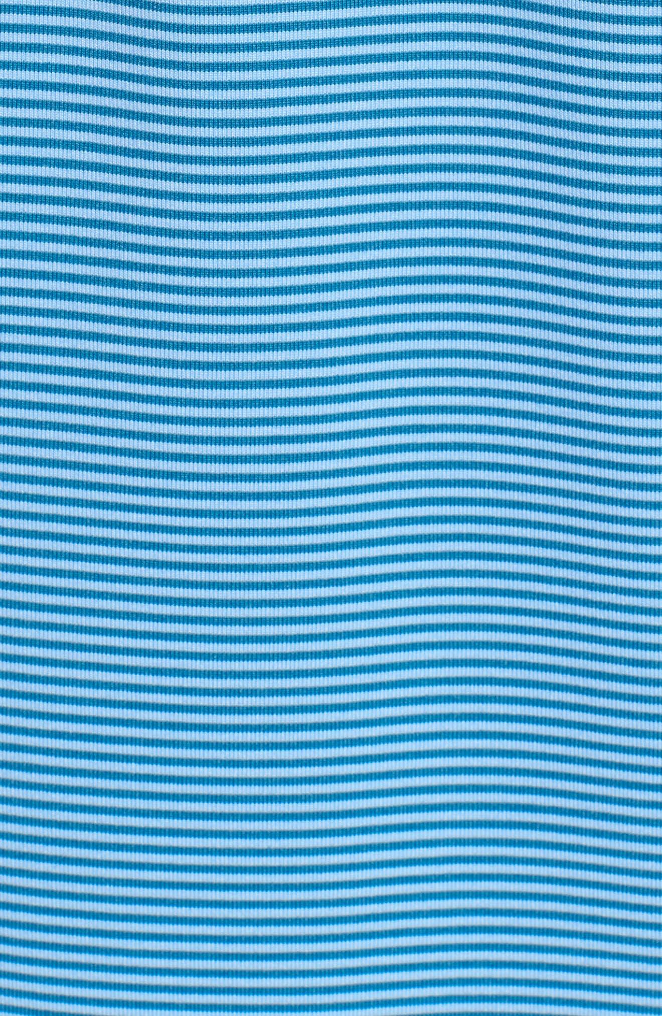Saranac Airflow Jersey Polo,                             Alternate thumbnail 3, color,                             Ice/ Caymen