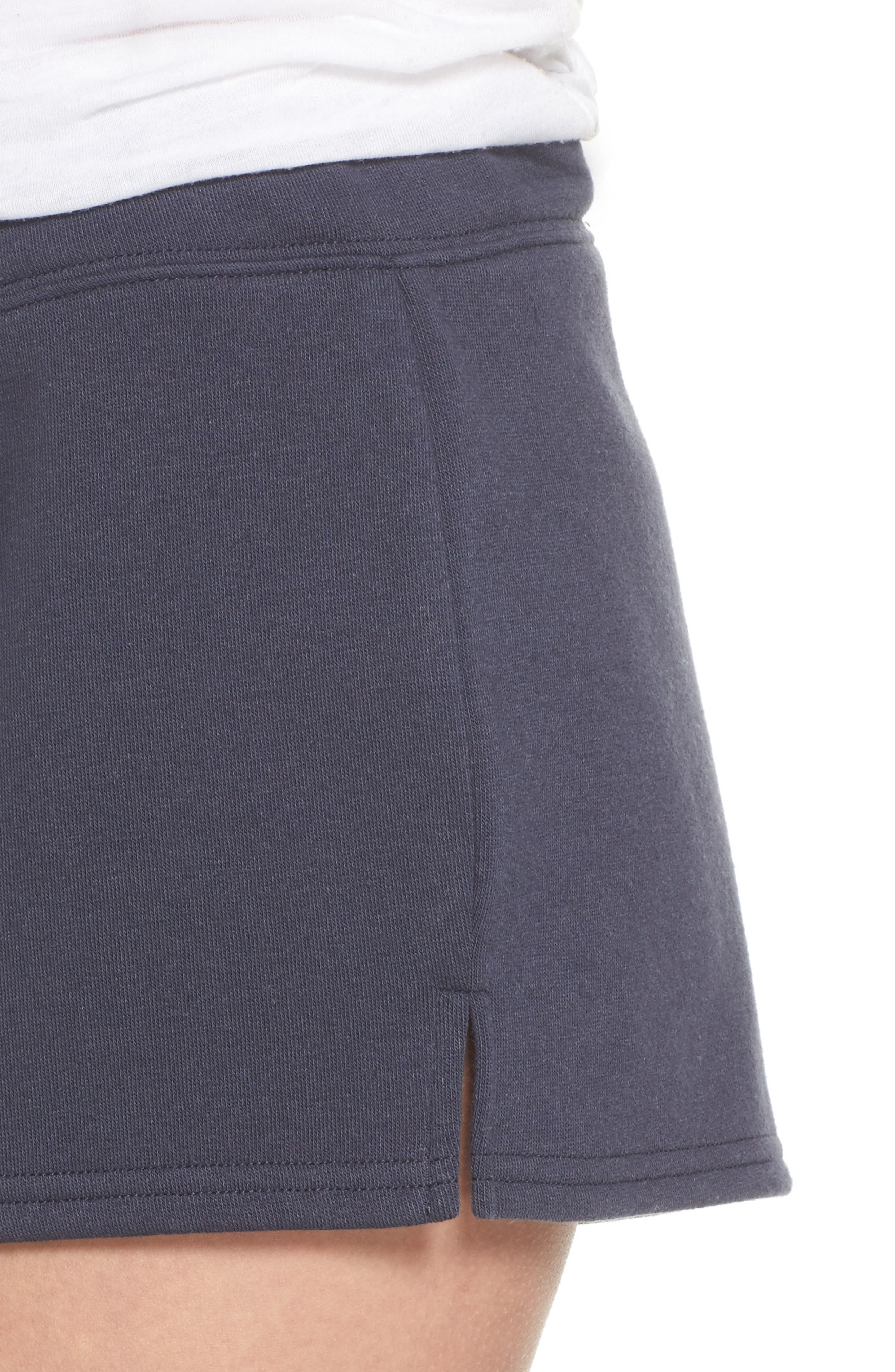 Take It Easy Lounge Shorts,                             Alternate thumbnail 6, color,                             Navy Blue
