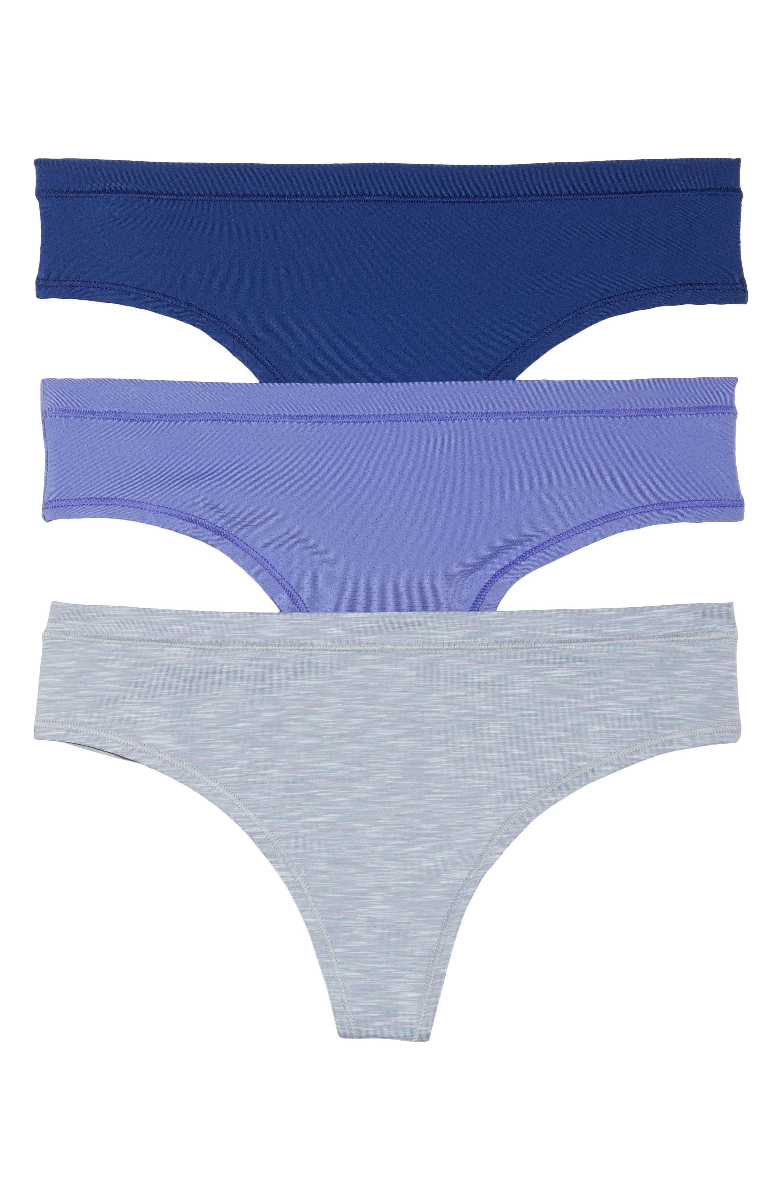 Alternate Image 1 Selected - Zella Body Active 3-Pack Thongs