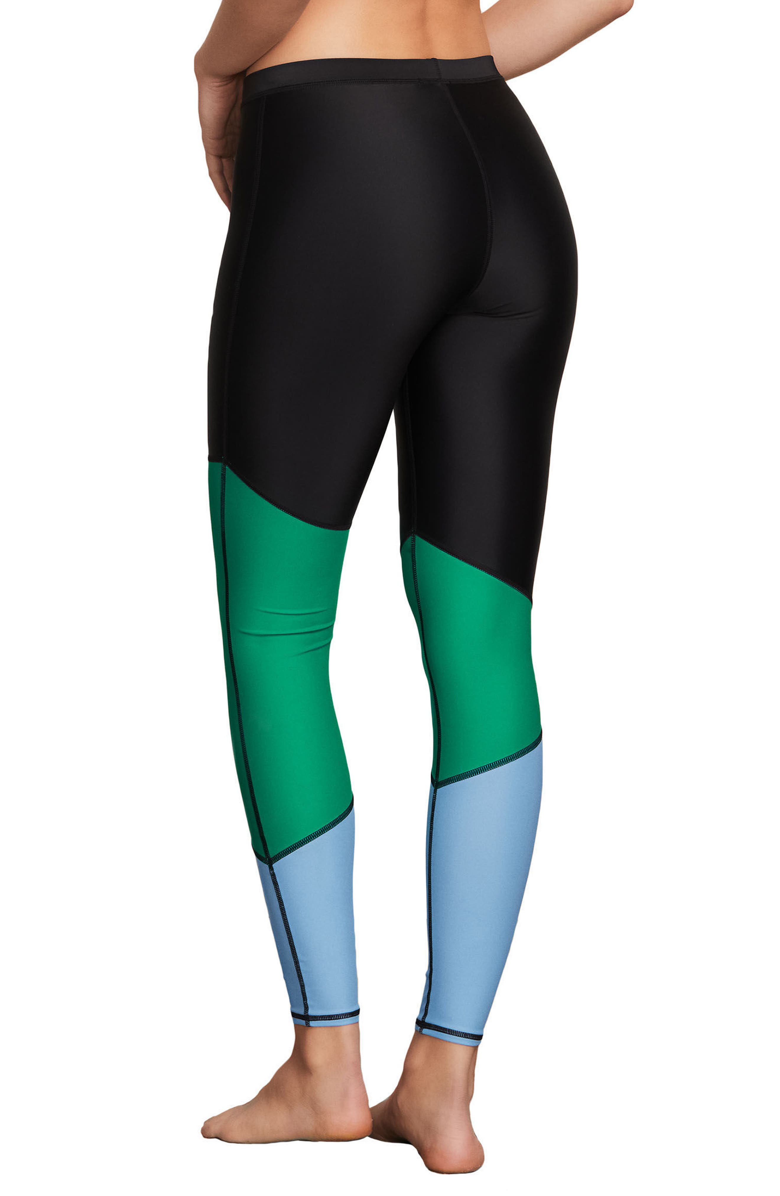Simply Solid Leggings,                             Alternate thumbnail 2, color,                             Green Spry