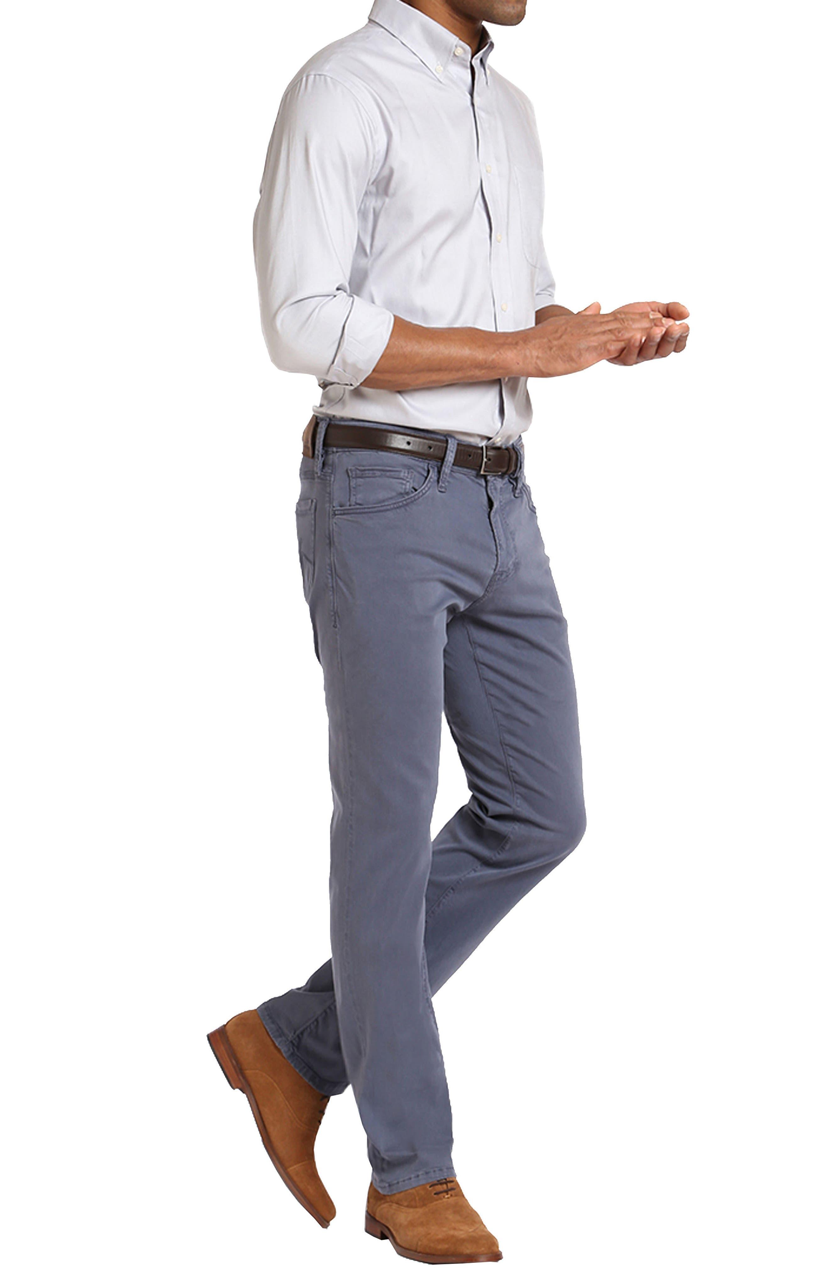 Straight Leg Twill Pants,                             Alternate thumbnail 4, color,                             Horizon Twill