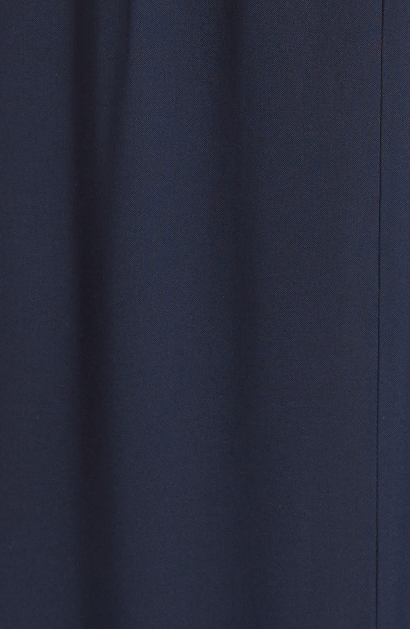 Lystra Cold Shoulder Maxi Dress,                             Alternate thumbnail 5, color,                             Dark Ink Blue