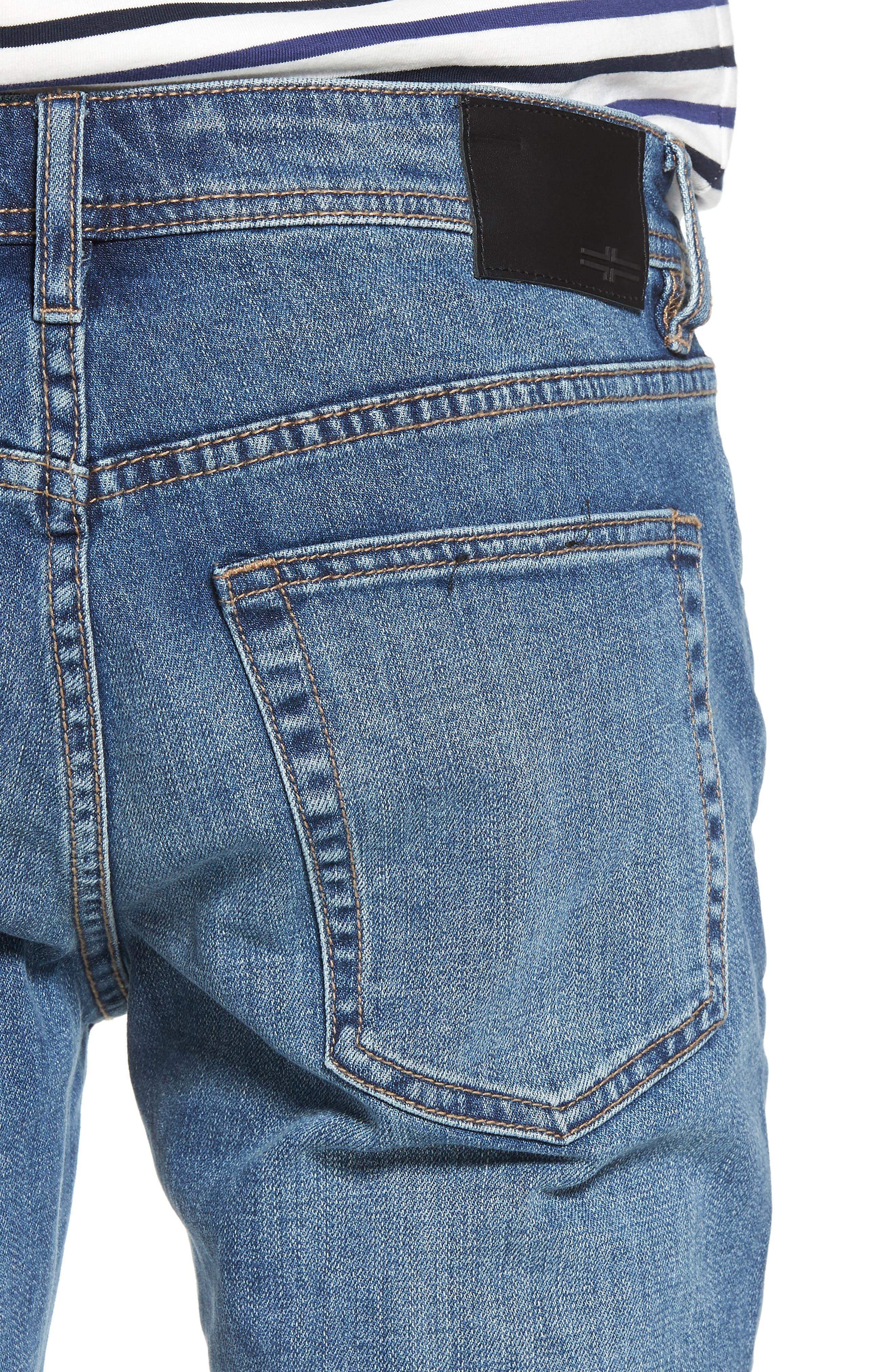 Jeans Co. Bond Skinny Fit Jeans,                             Alternate thumbnail 4, color,                             Bryson Vintage Medium
