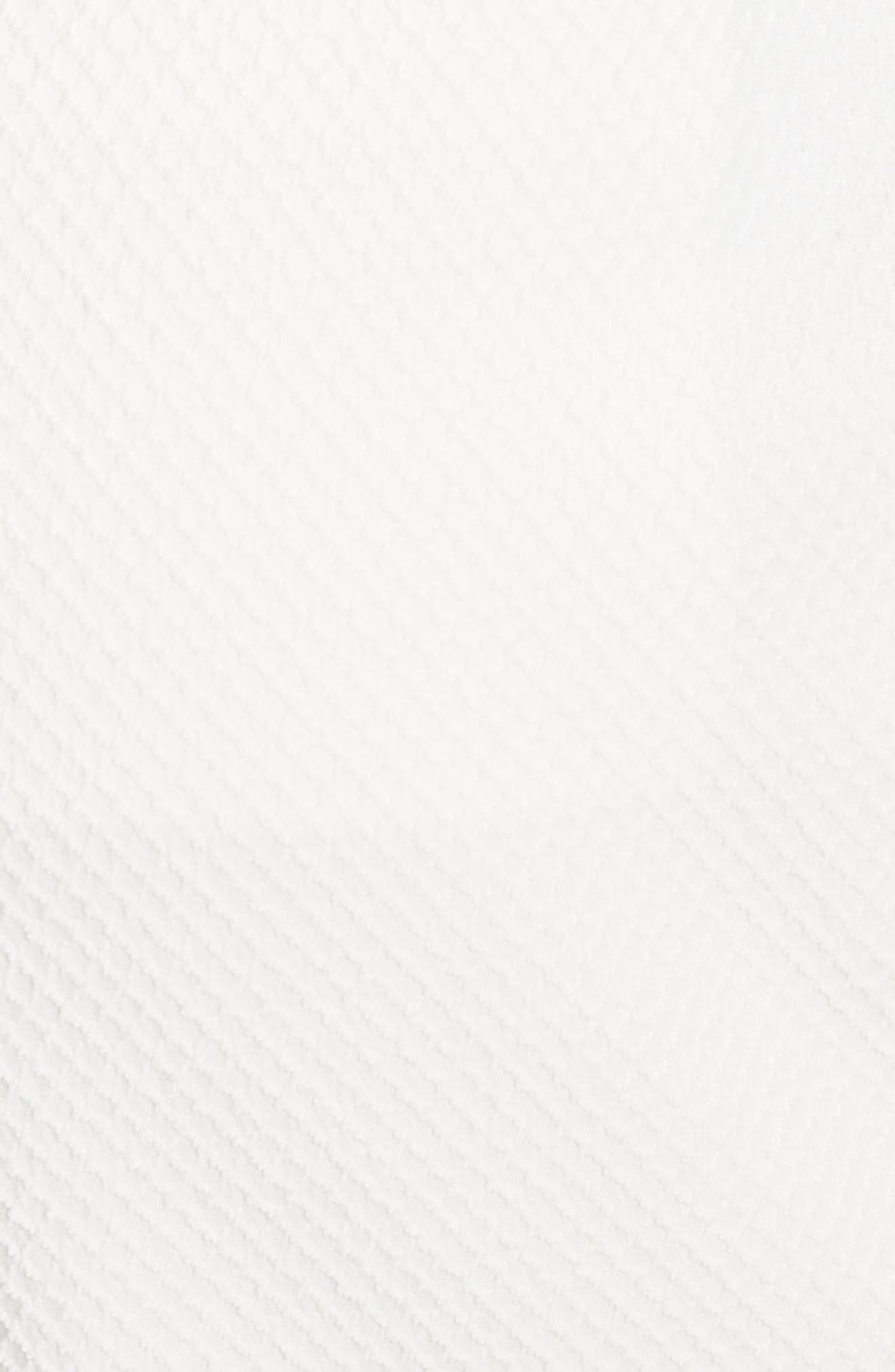 Textured Stretch Cotton Blend Utility Pants,                             Alternate thumbnail 5, color,                             Soft White