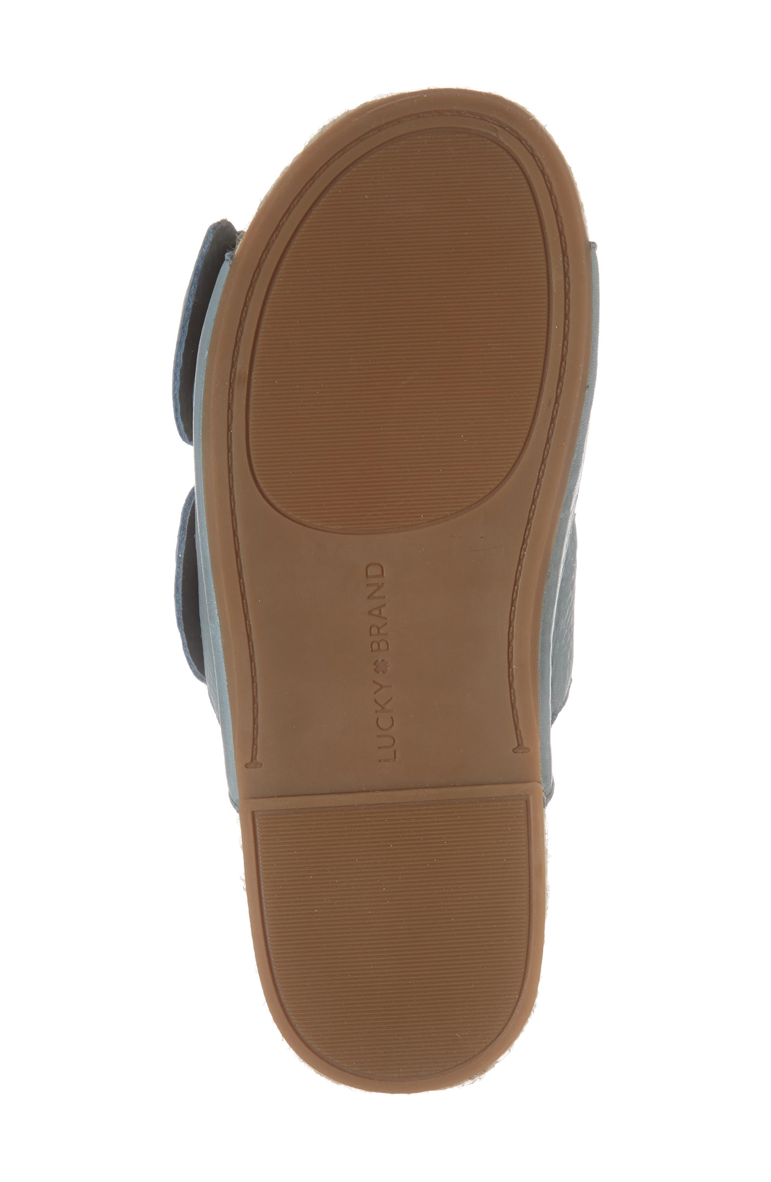 Izbremma Platform Espadrille Sandal,                             Alternate thumbnail 6, color,                             Infinity Leather