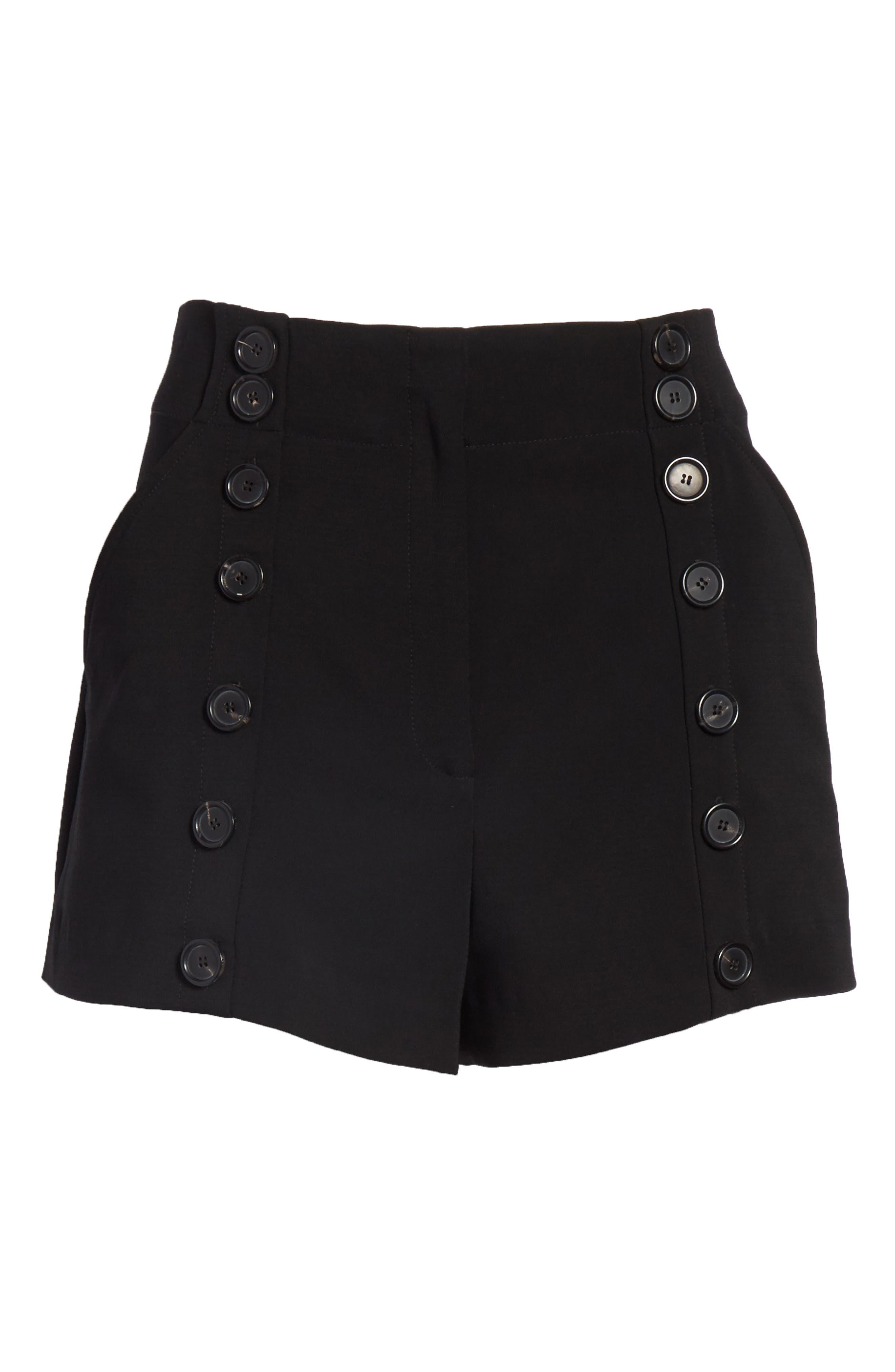 Issac Shorts,                             Alternate thumbnail 6, color,                             Black