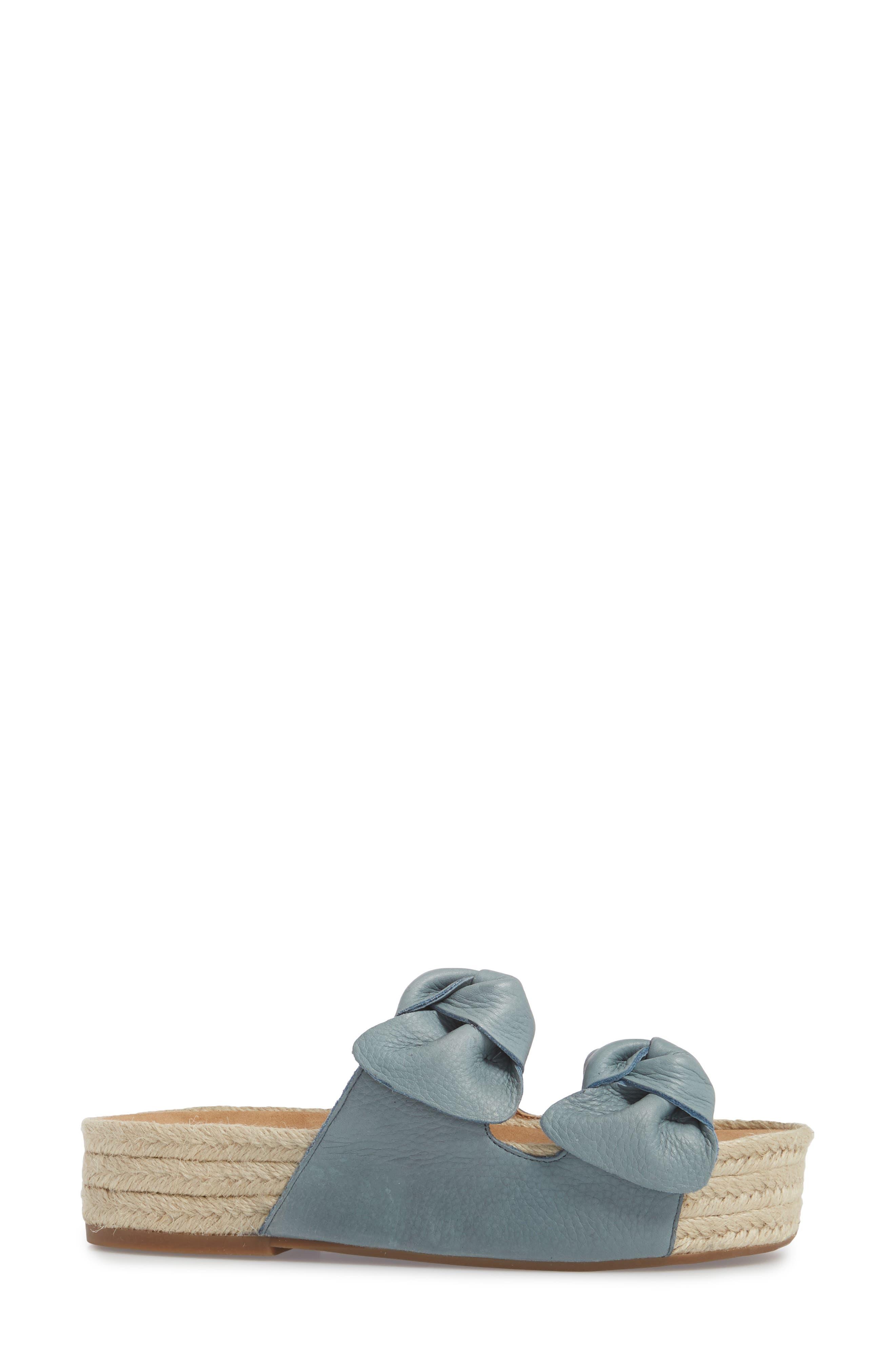 Izbremma Platform Espadrille Sandal,                             Alternate thumbnail 3, color,                             Infinity Leather