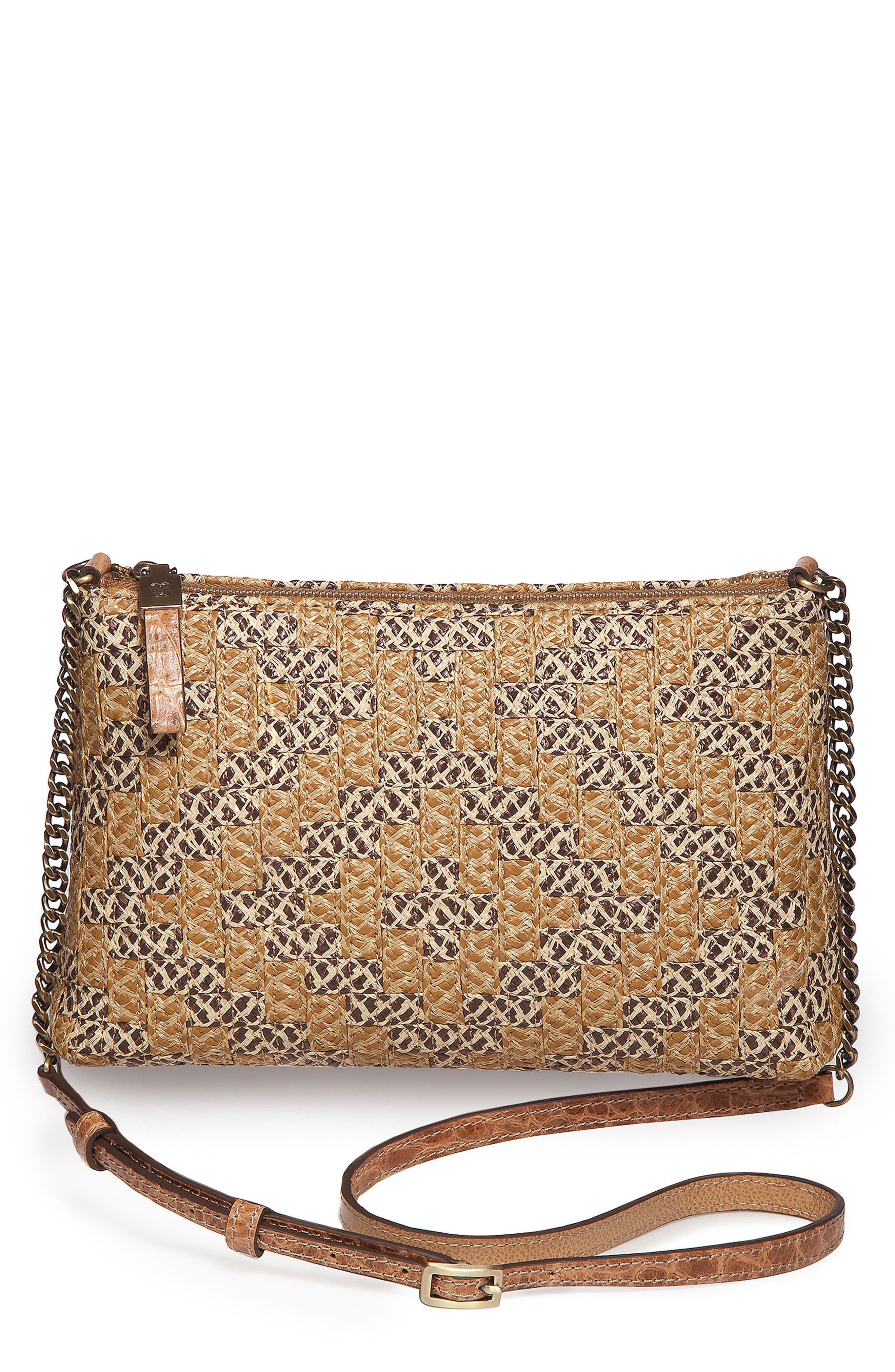 Pochette Squishee<sup>®</sup> Crossbody,                             Main thumbnail 1, color,                             Natural Mix