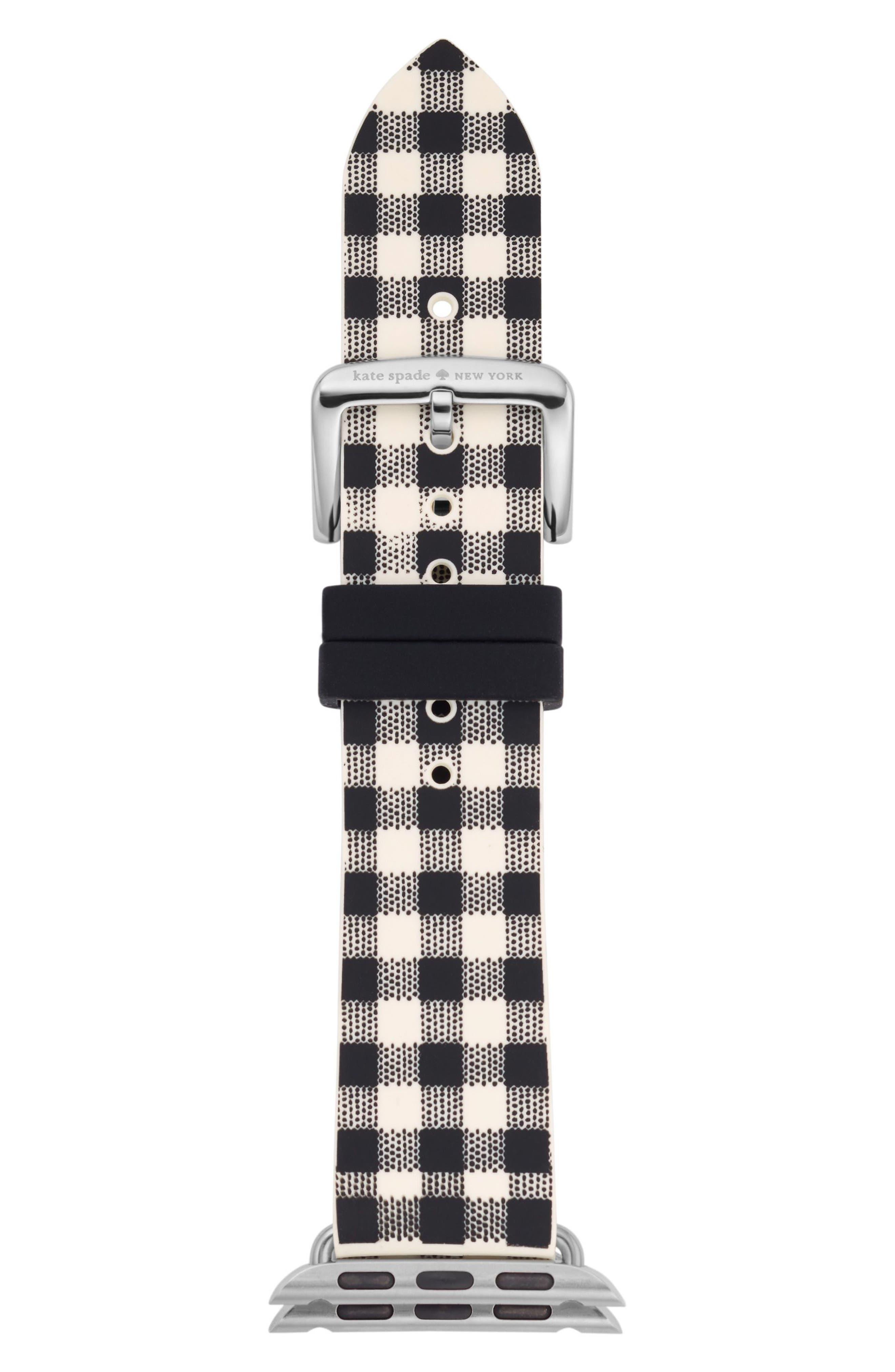 Apple Watch strap, 25mm,                             Main thumbnail 1, color,                             Black