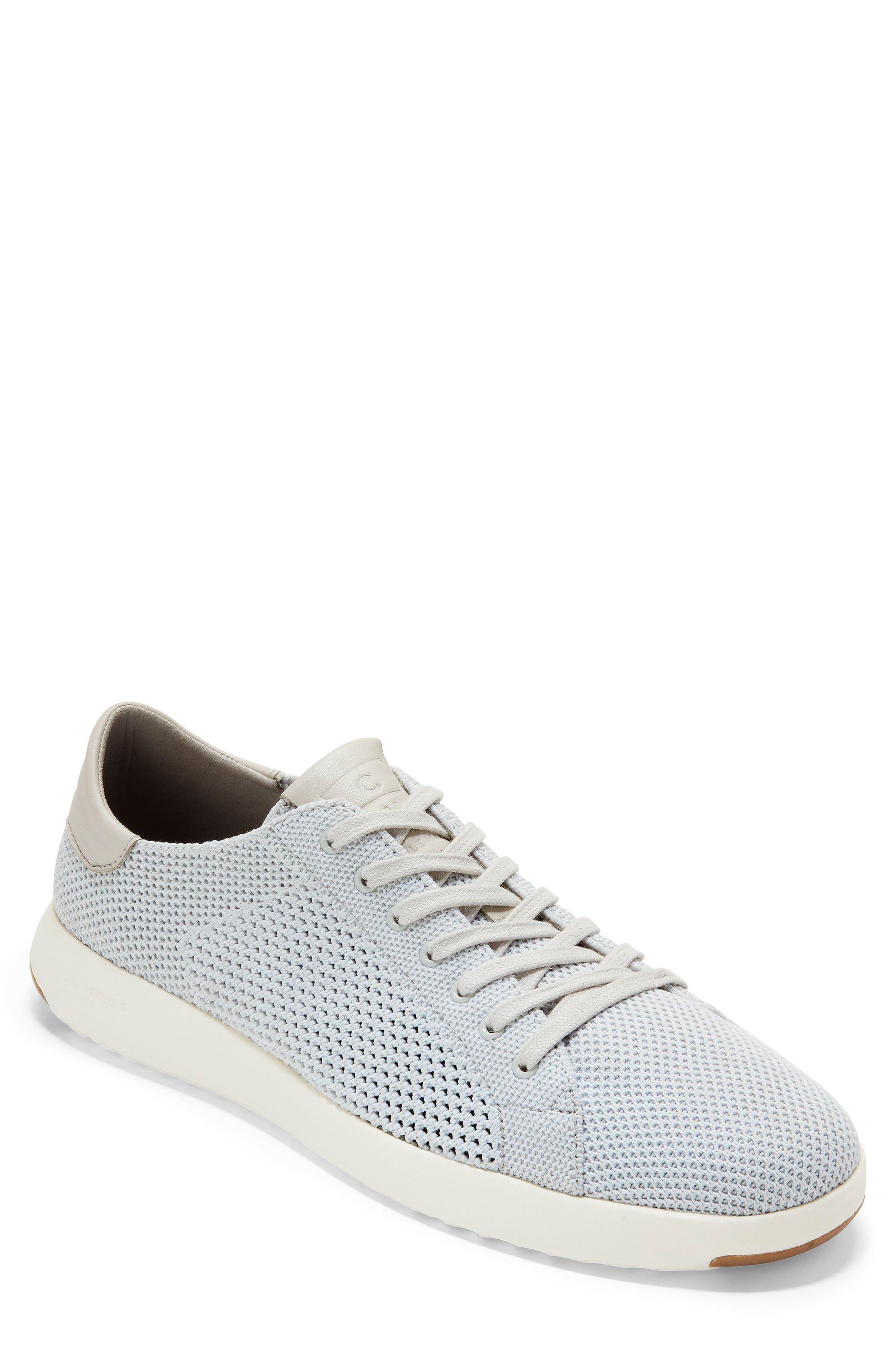 GrandPro Tennis Stitchlite Sneaker,                             Main thumbnail 1, color,                             Vapor Gray/ Optic White