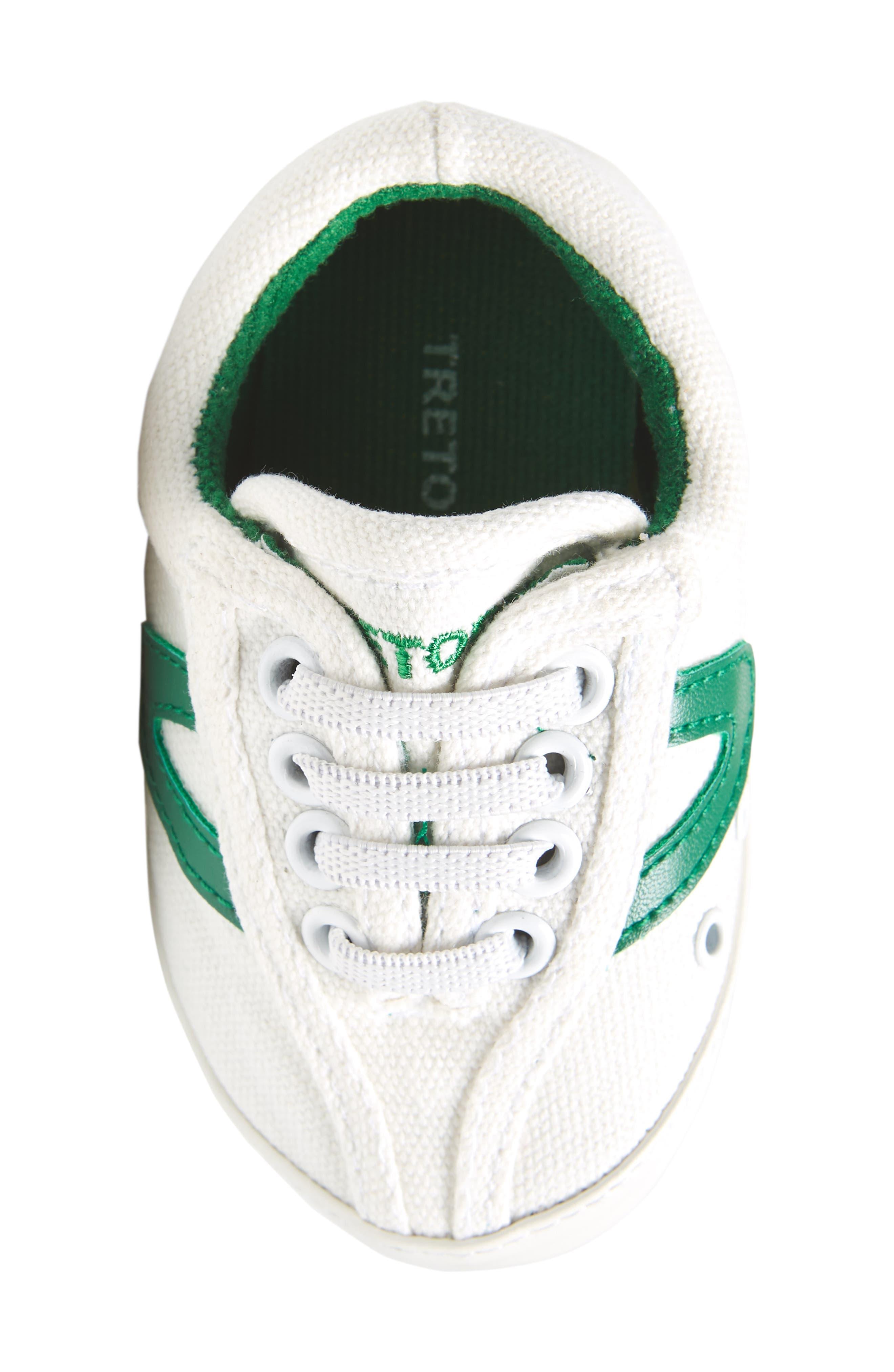 Nylite Plus Sneaker,                             Alternate thumbnail 5, color,                             White/ Green