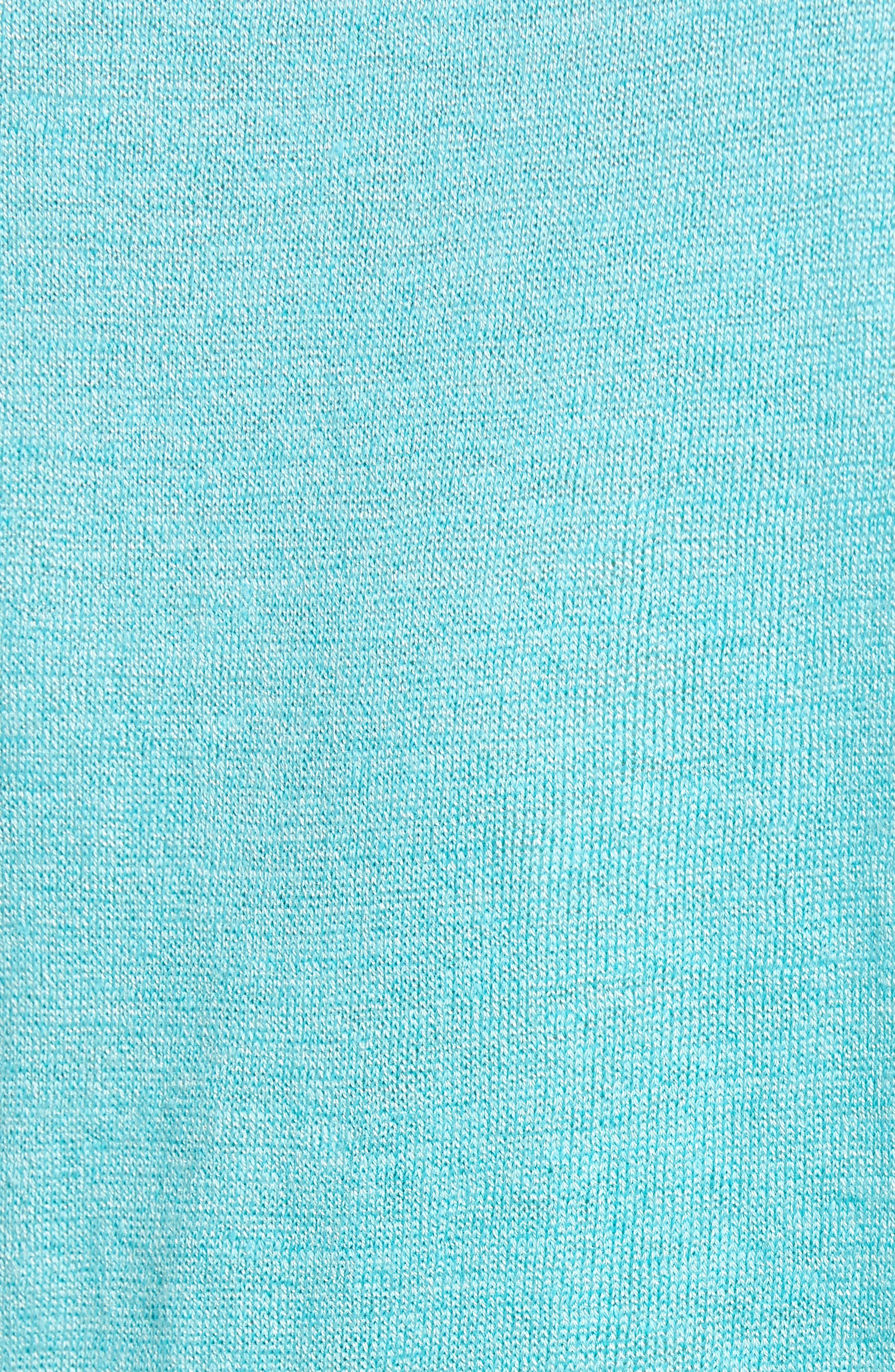 Refreshing Side Tie Top,                             Alternate thumbnail 6, color,                             Aqua
