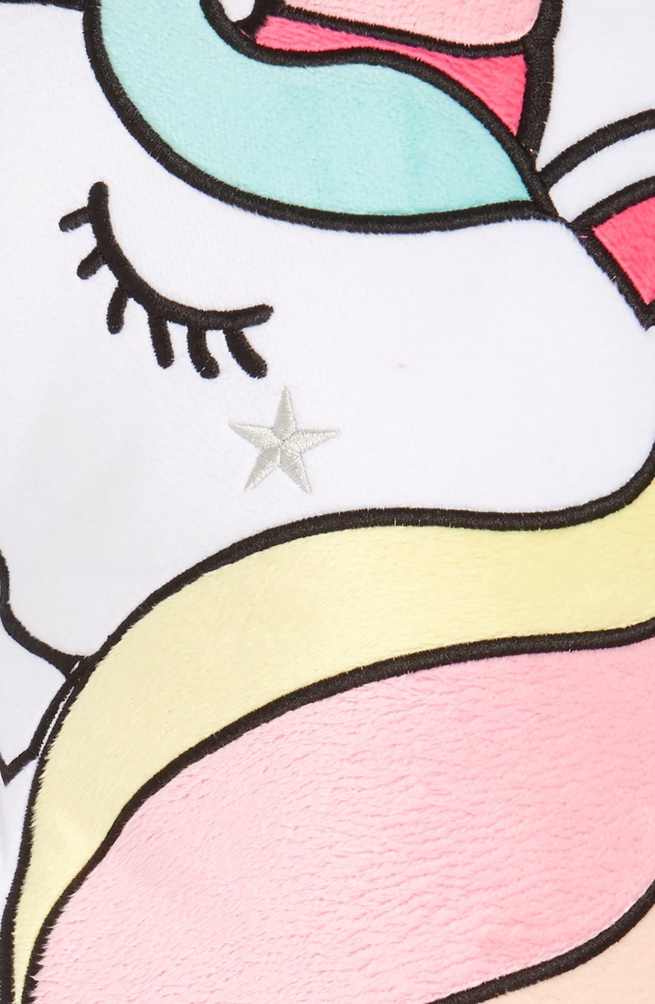 Unicorn Pillow,                             Alternate thumbnail 3, color,                             Multi Combo