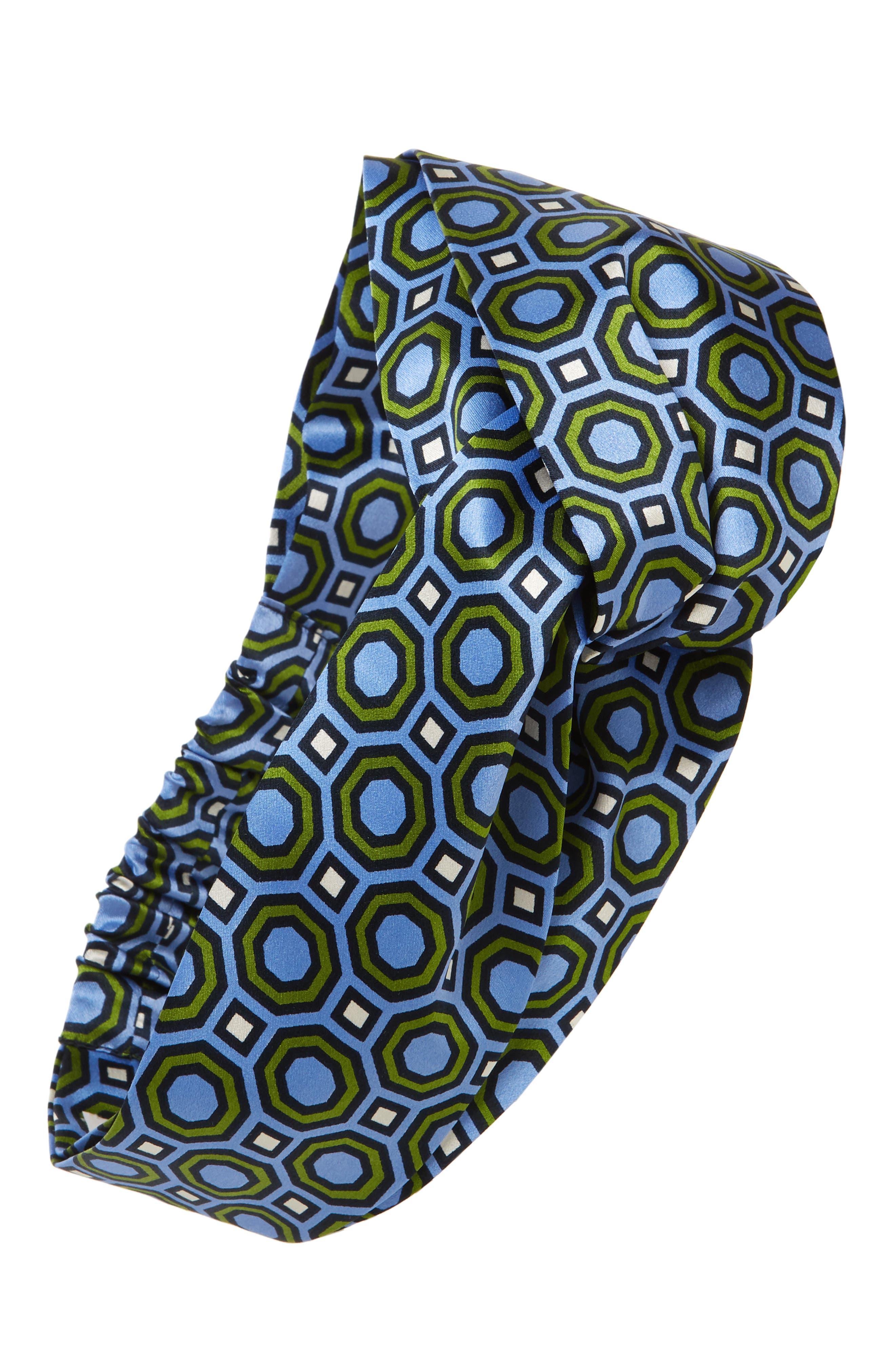 Alternate Image 1 Selected - Tory Burch Octagon Silk Headband