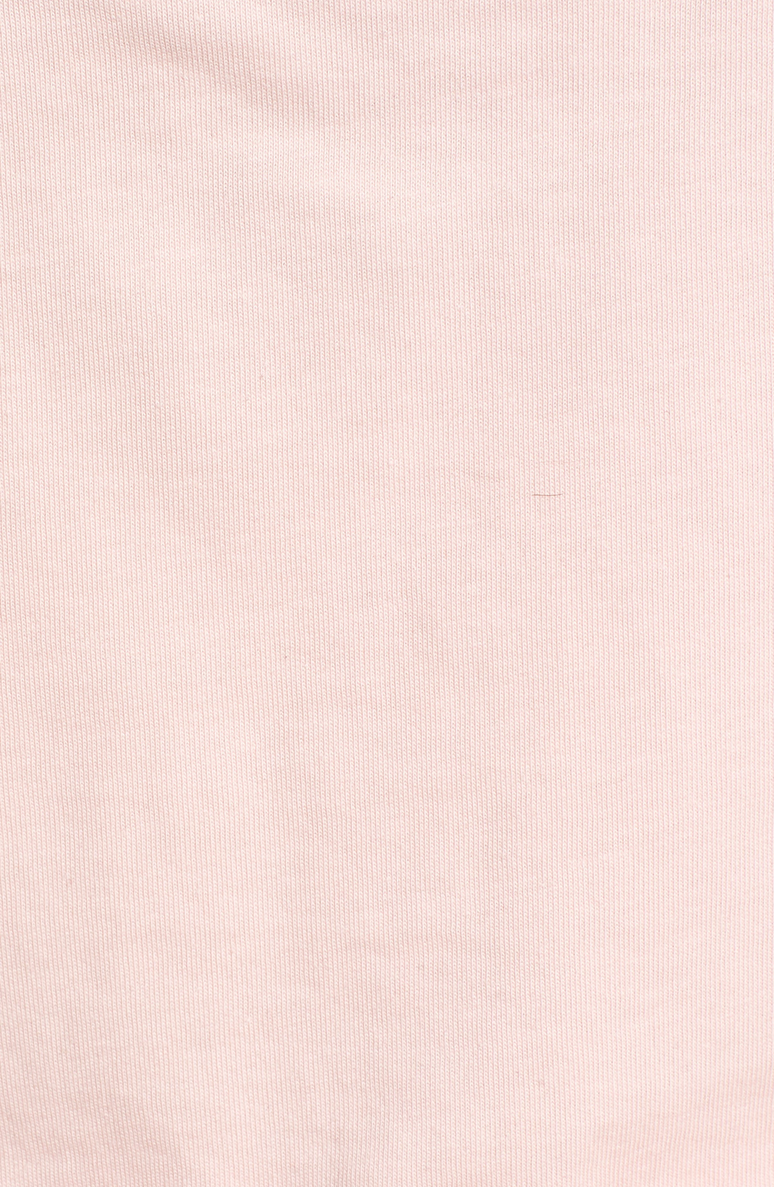 Festival Palm Print Crop Tank,                             Alternate thumbnail 6, color,                             Powder Pink