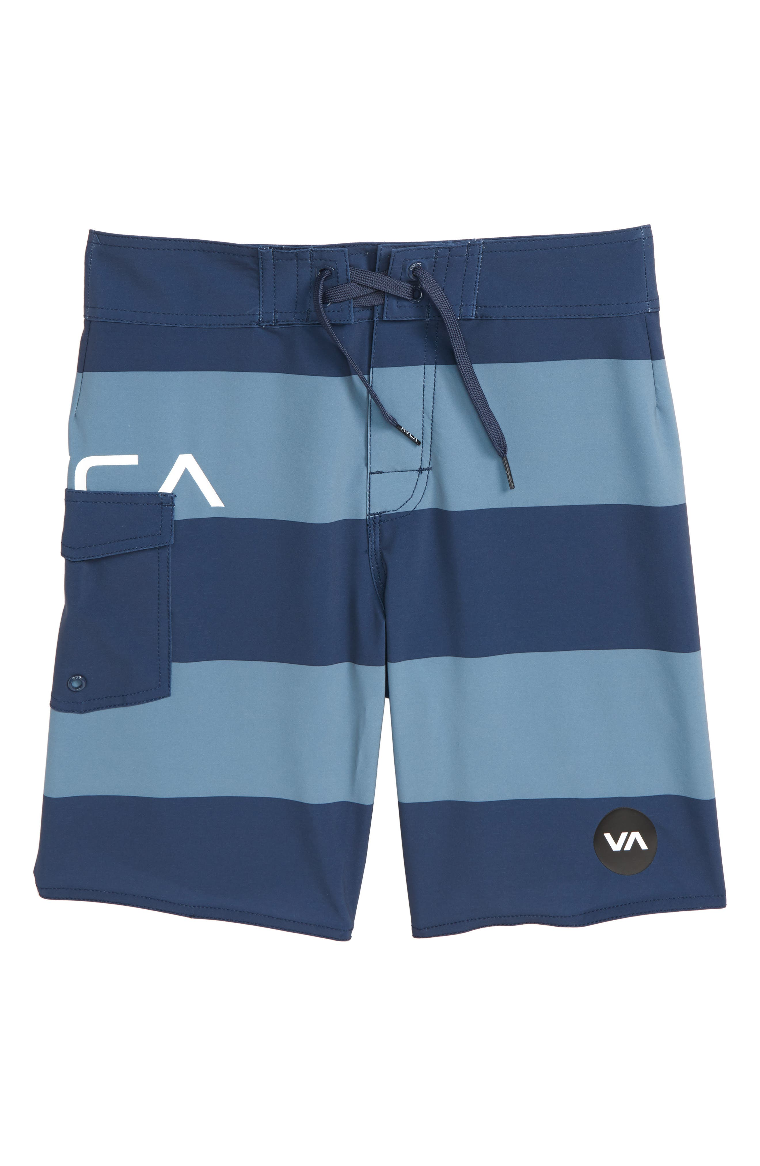 RVCA Uncivil Stripe Board Shorts (Big Boys)