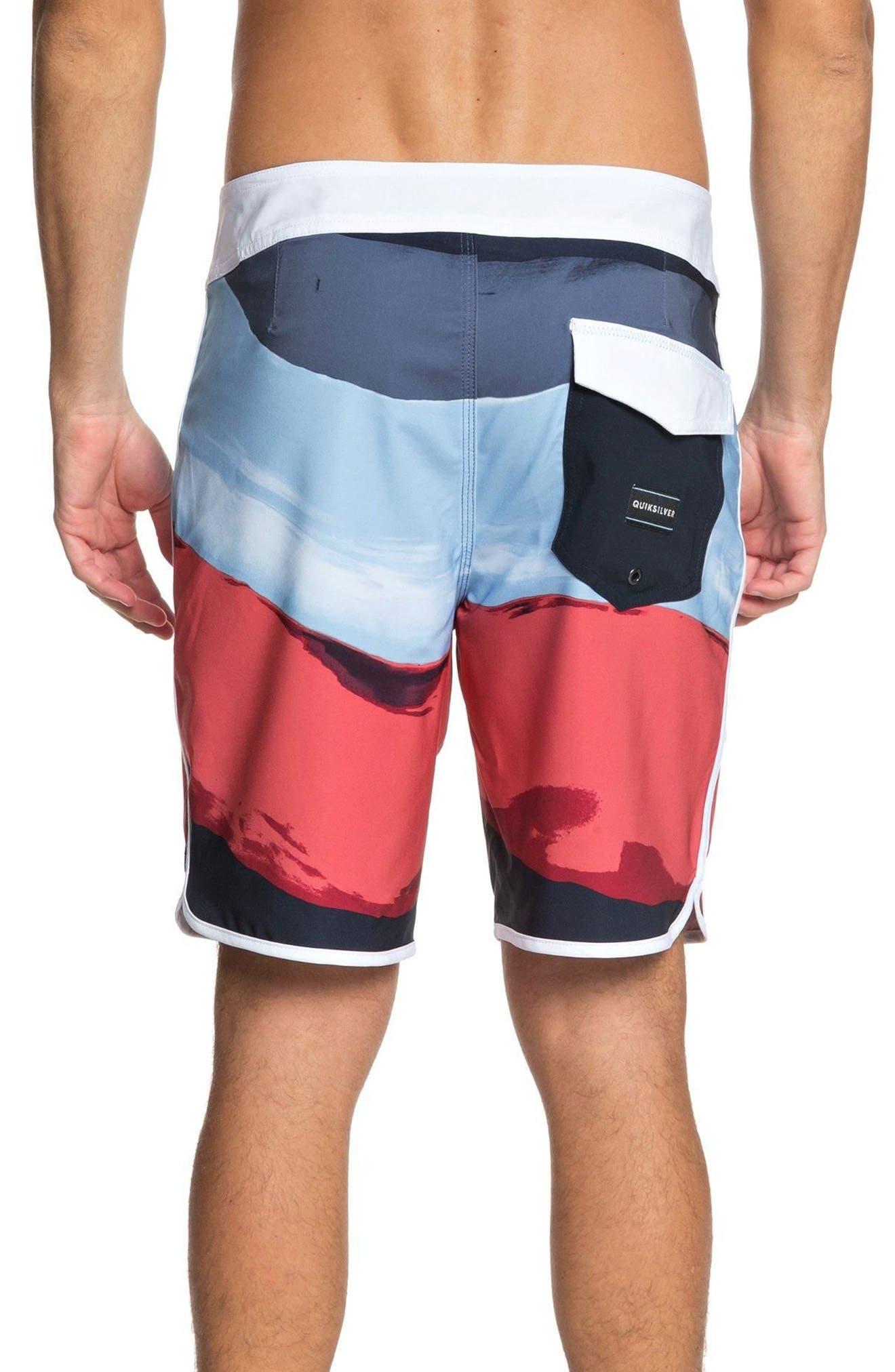 Highline Resin Board Shorts,                             Alternate thumbnail 2, color,                             Navy Blazer