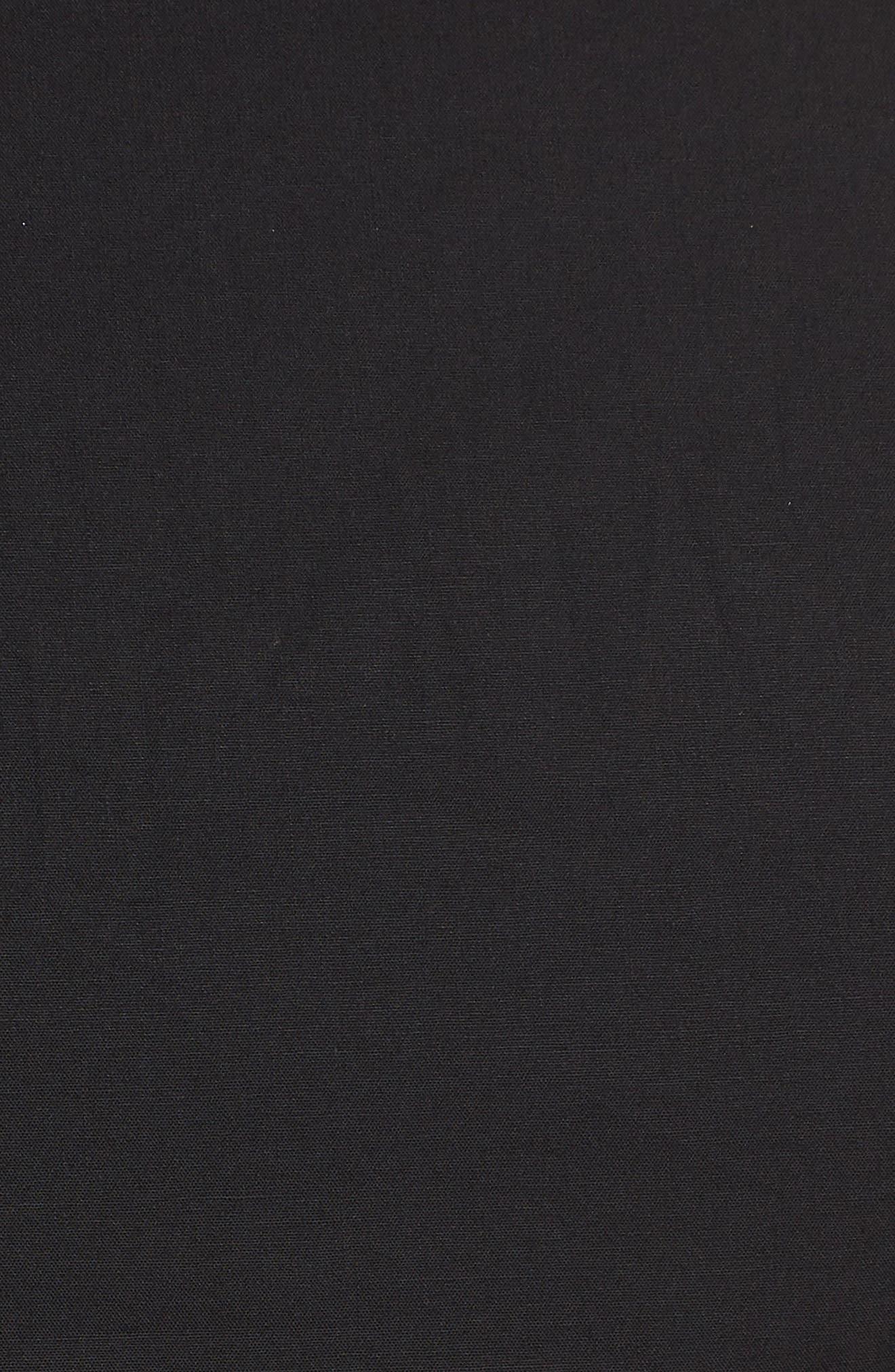 Delilah Maxi Dress,                             Alternate thumbnail 5, color,                             Black