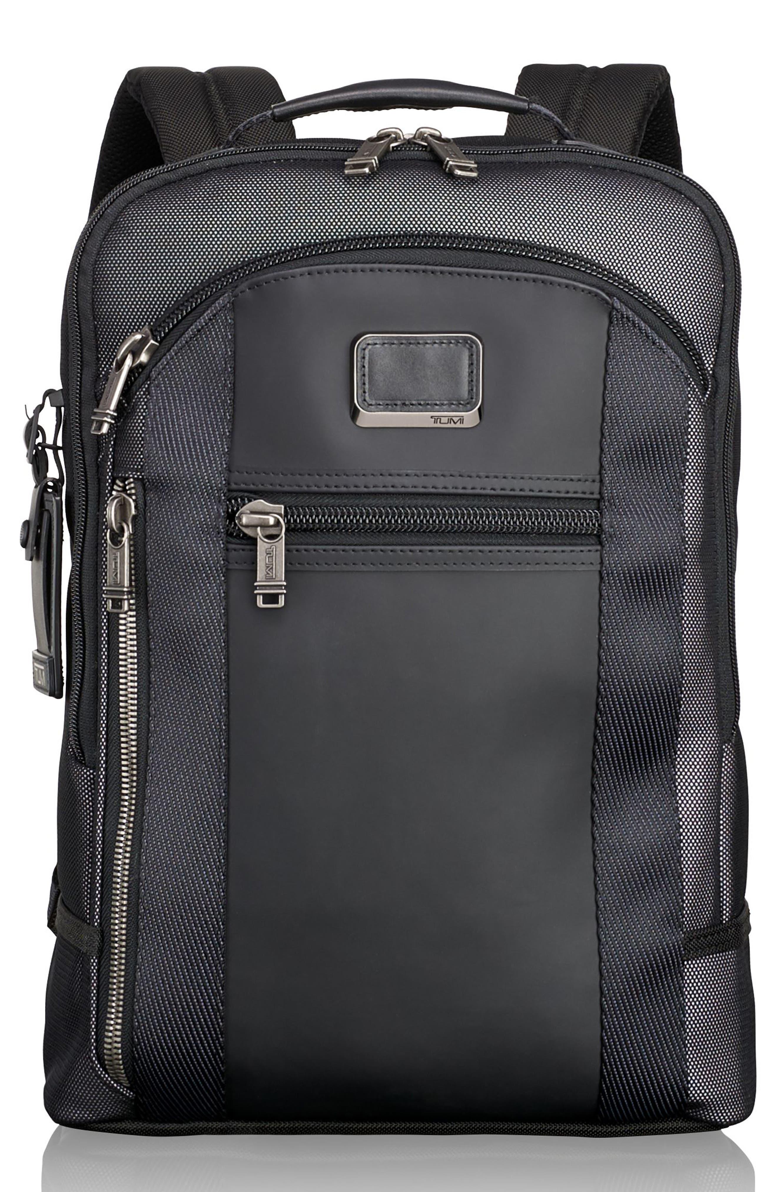 Alpha Bravo - Davis Backpack,                             Main thumbnail 1, color,                             Reflective Silver