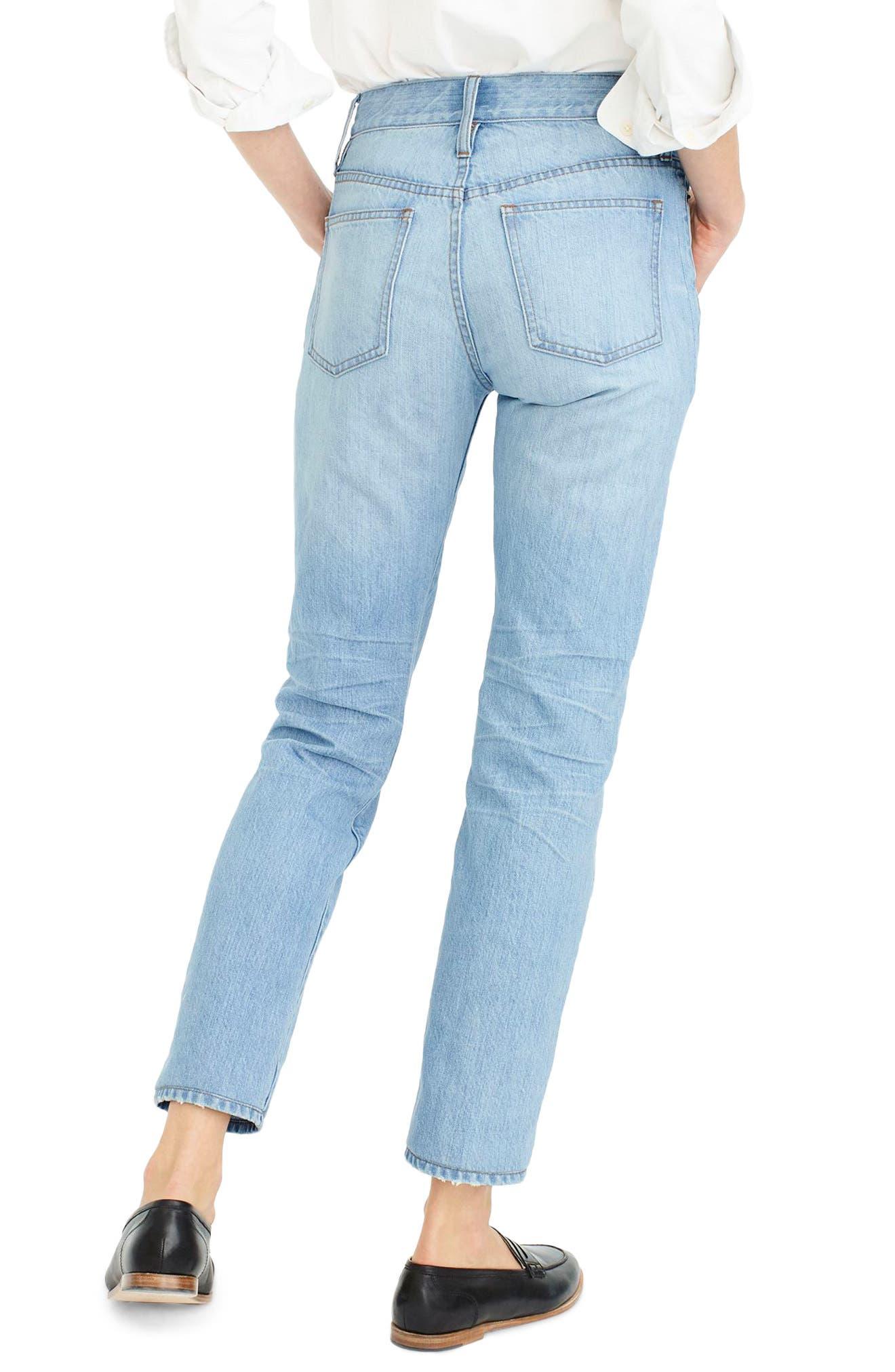 Retro Big Idea Jeans,                             Alternate thumbnail 2, color,                             Fern Wash
