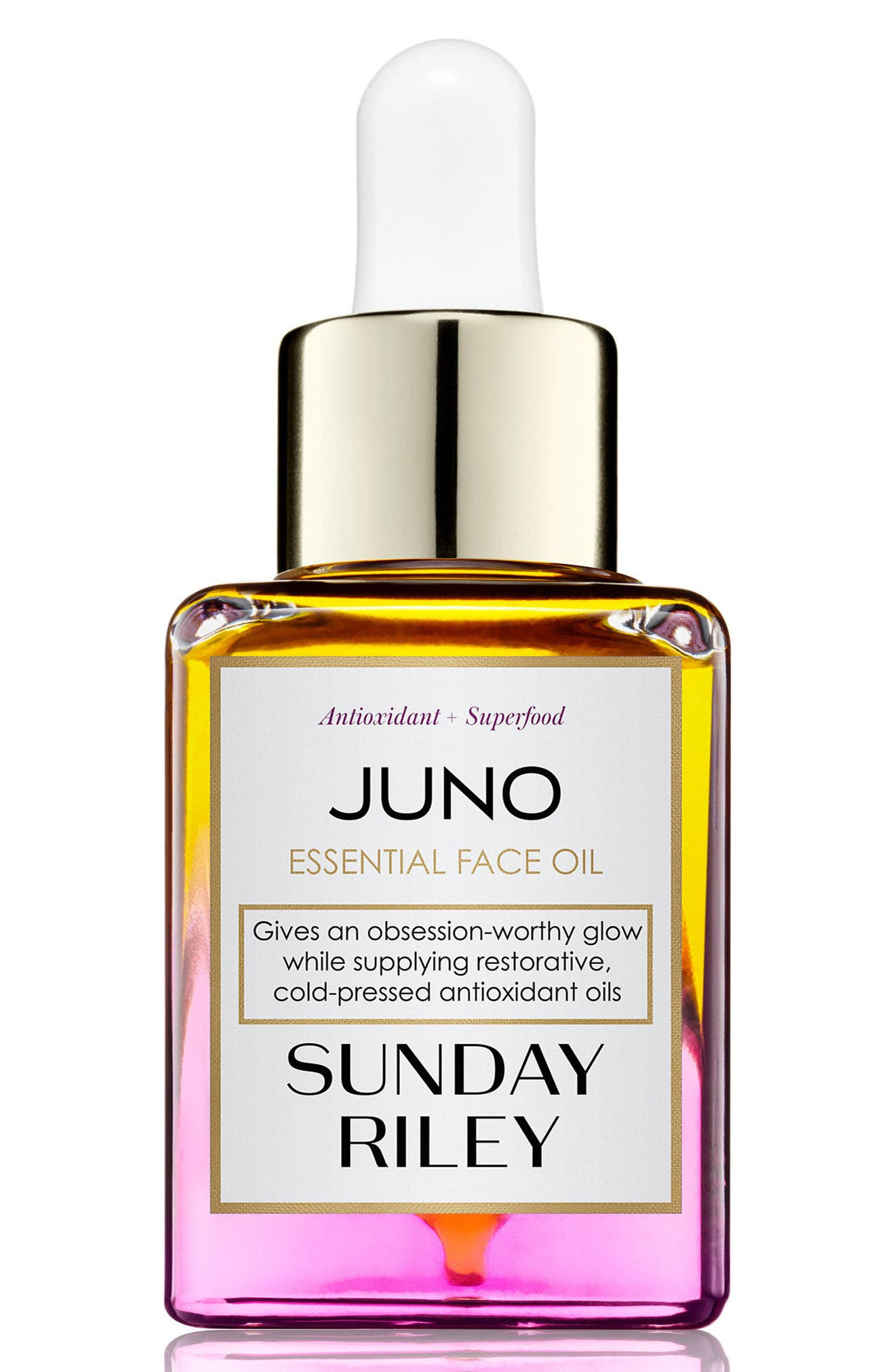 SPACE.NK.apothecary Sunday Riley Juno Essential Face Oil,                             Main thumbnail 1, color,                             No Color